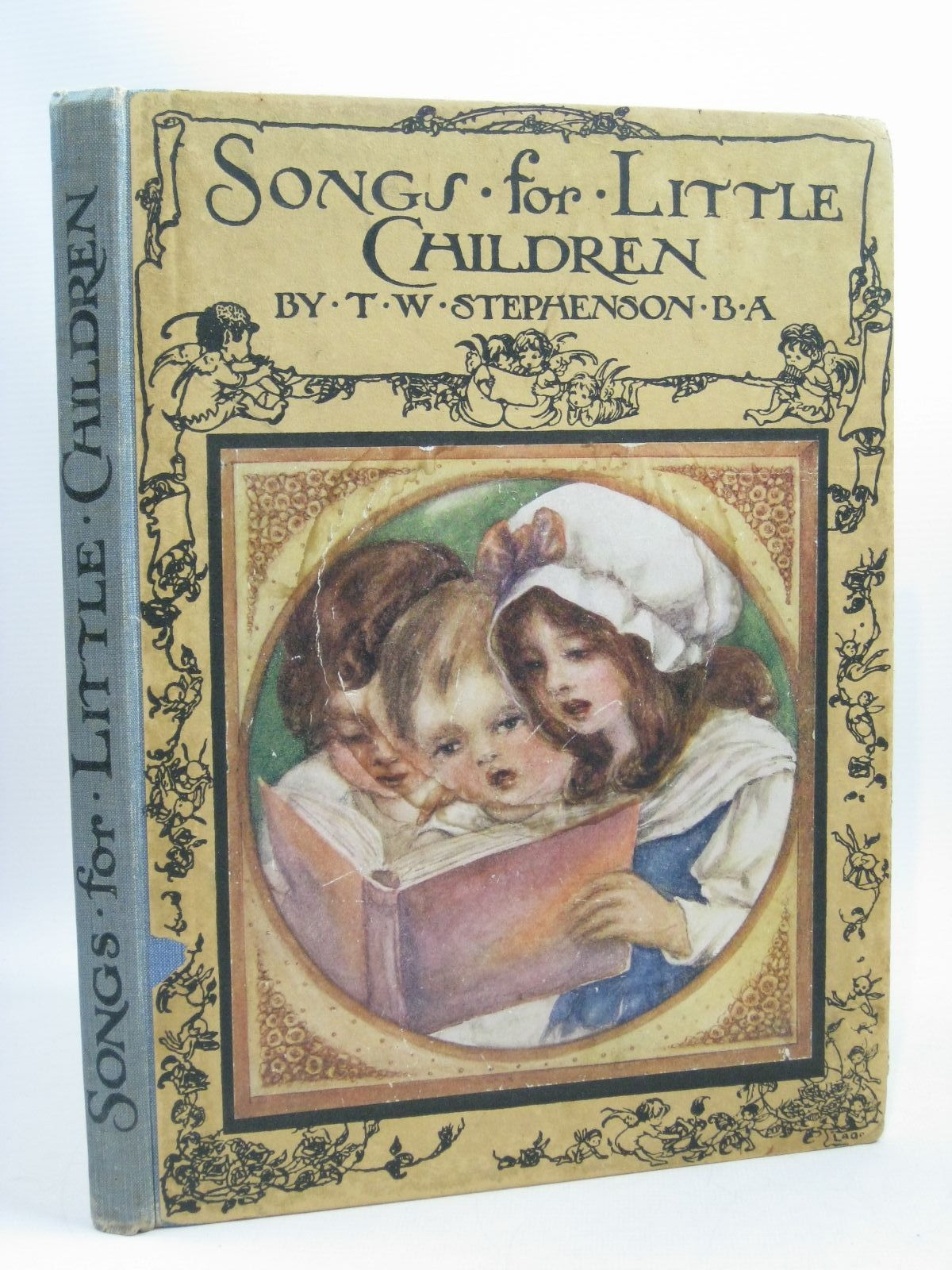 Photo of SONGS FOR LITTLE CHILDREN written by Stephenson, T.W. illustrated by Govey, Lilian A. published by Oxford University Press, Humphrey Milford (STOCK CODE: 1314662)  for sale by Stella & Rose's Books