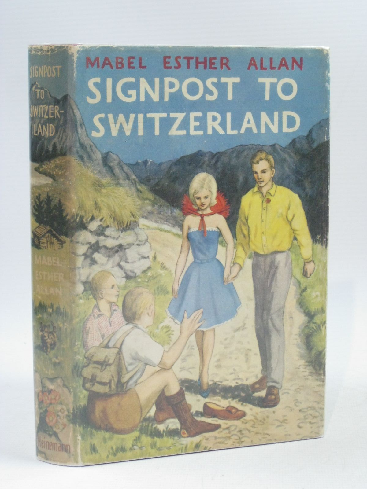 Photo of SIGNPOST TO SWITZERLAND written by Allan, Mabel Esther published by William Heinemann Ltd. (STOCK CODE: 1314739)  for sale by Stella & Rose's Books
