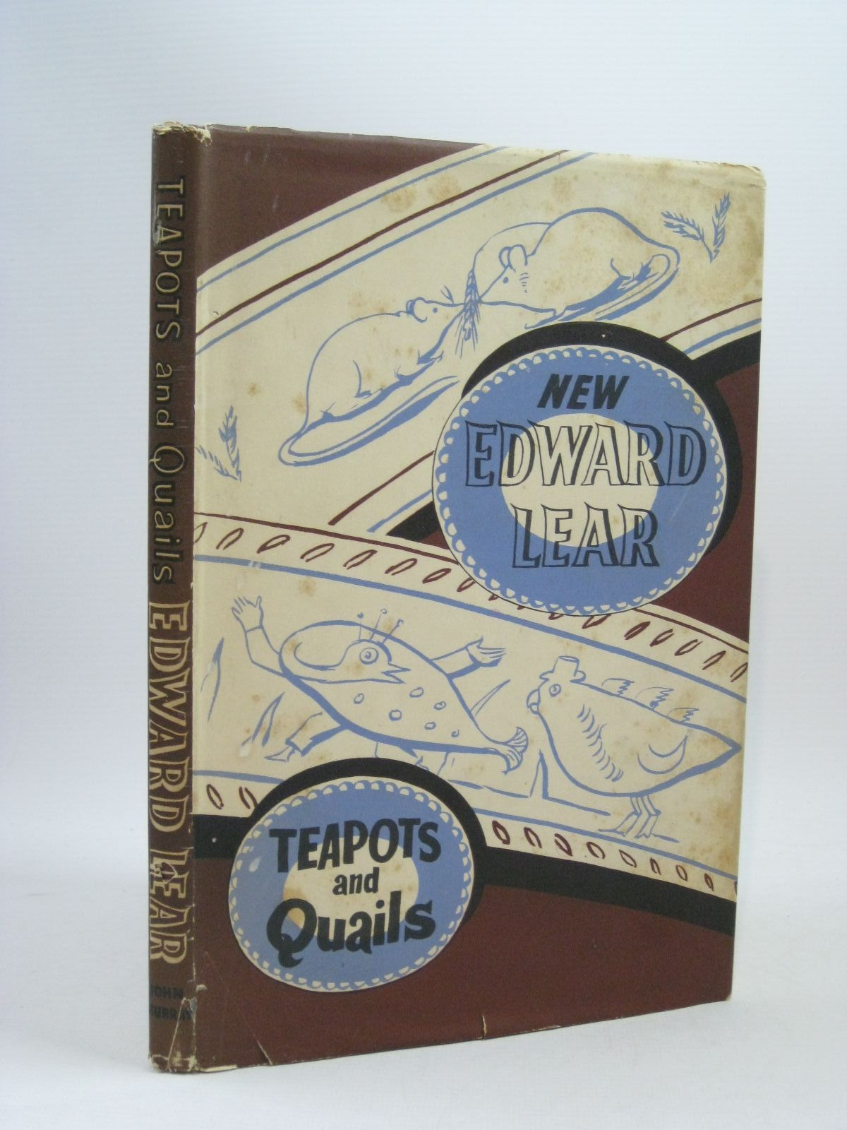 Photo of TEAPOTS AND QUAILS AND OTHER NEW NONSENSES written by Lear, Edward illustrated by Lear, Edward published by John Murray (STOCK CODE: 1314793)  for sale by Stella & Rose's Books