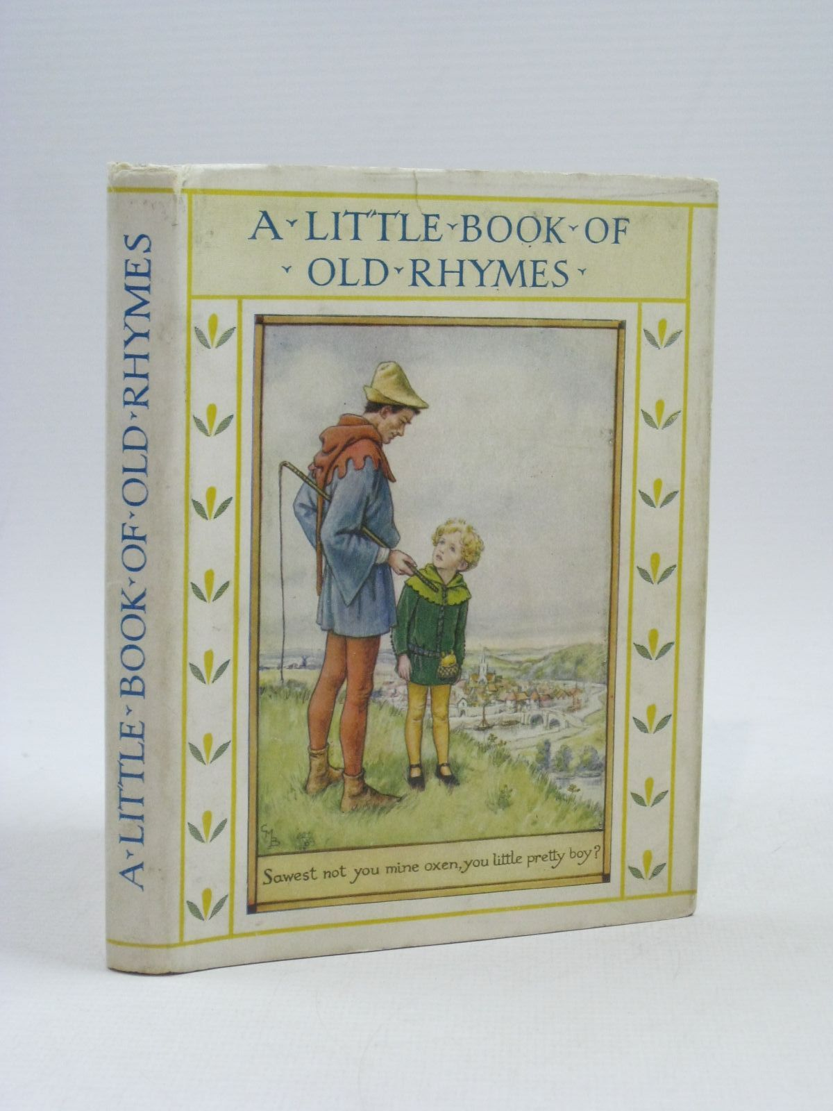Photo of A LITTLE BOOK OF OLD RHYMES written by Barker, Cicely Mary illustrated by Barker, Cicely Mary published by Blackie & Son Ltd. (STOCK CODE: 1314850)  for sale by Stella & Rose's Books