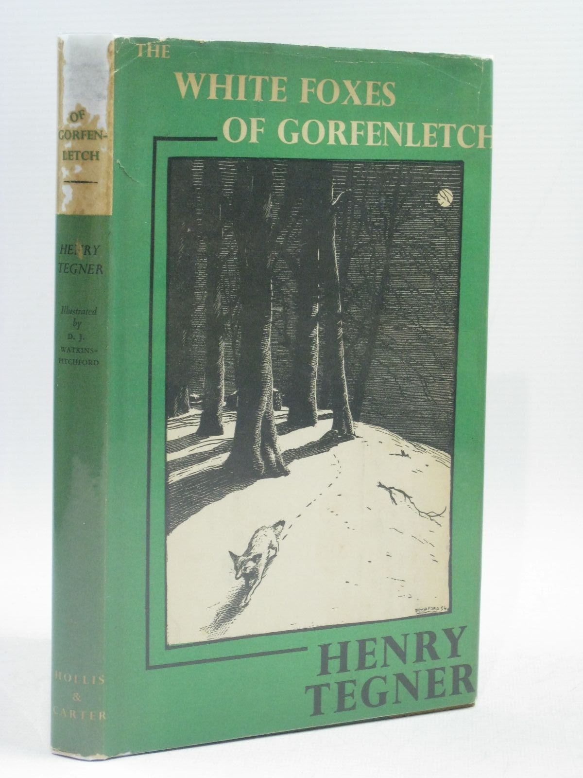 Photo of THE WHITE FOXES OF GORFENLETCH written by Tegner, Henry illustrated by BB,  published by Hollis & Carter (STOCK CODE: 1314854)  for sale by Stella & Rose's Books