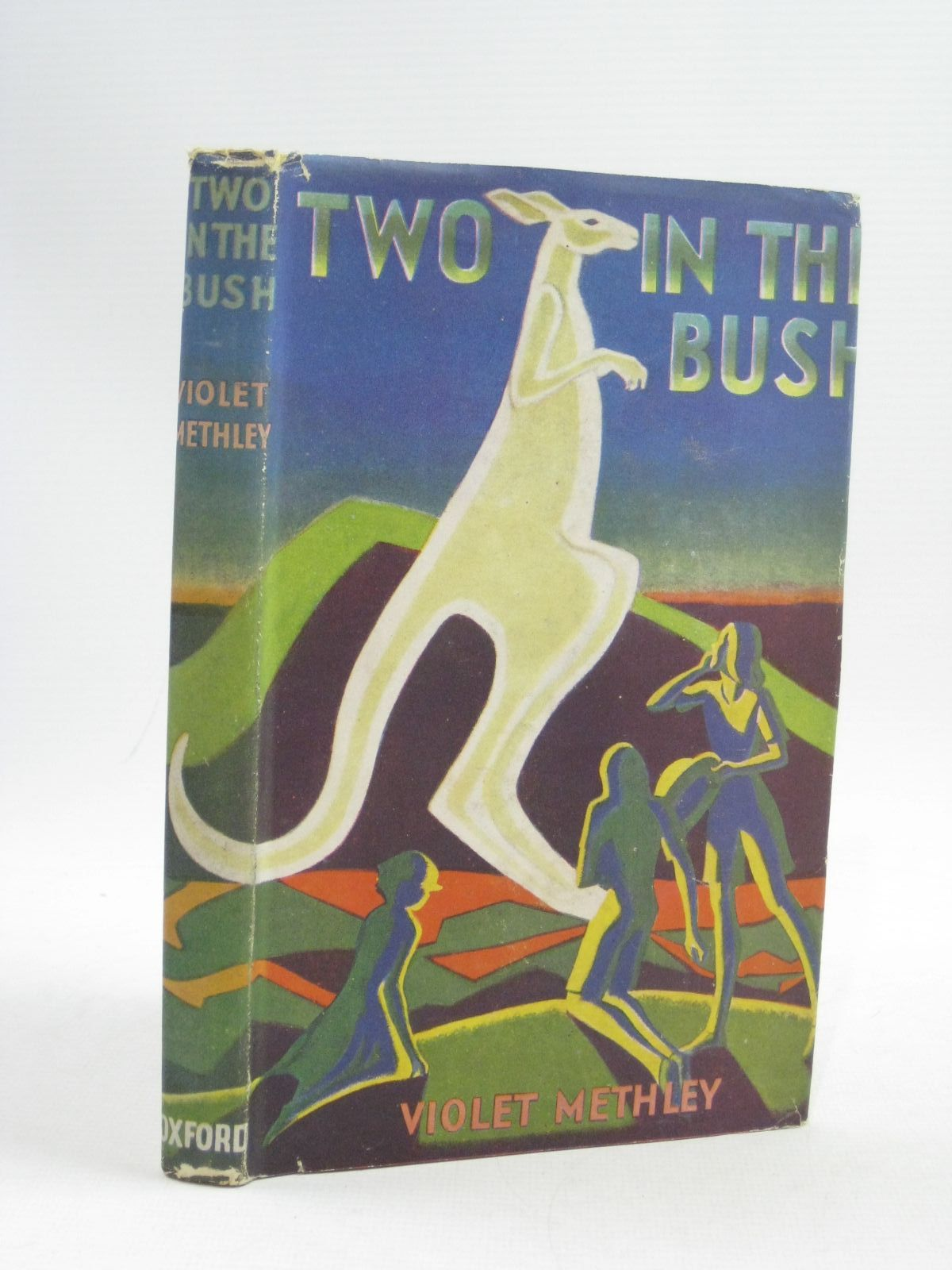 Photo of TWO IN THE BUSH written by Methley, Violet M. illustrated by Veevers, Isabel published by Oxford University Press (STOCK CODE: 1314921)  for sale by Stella & Rose's Books
