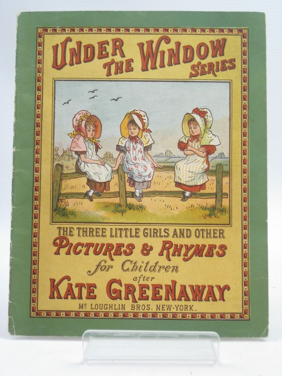 Photo of THE THREE LITTLE GIRLS AND OTHER PICTURES & RHYMES FOR CHILDREN published by McLoughlin Bros. (STOCK CODE: 1314941)  for sale by Stella & Rose's Books