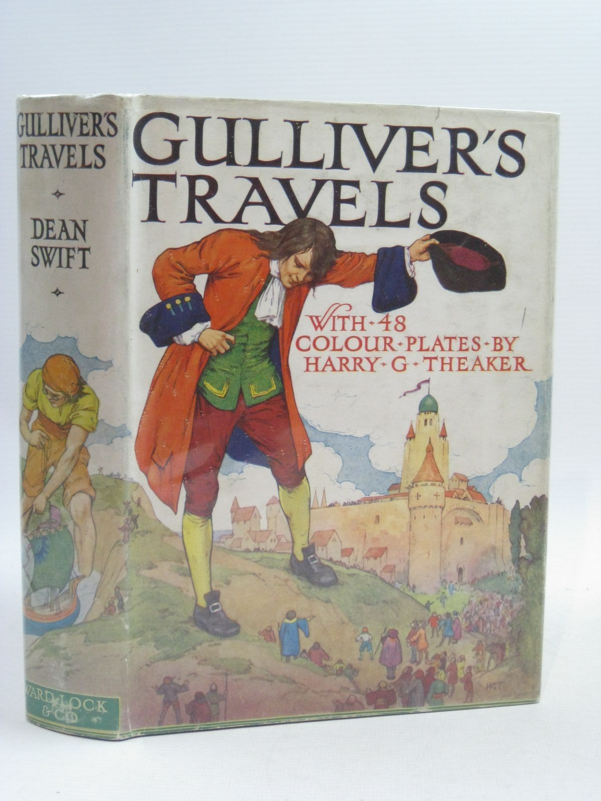 Photo of GULLIVER'S TRAVELS written by Swift, Jonathan illustrated by Theaker, Harry G. published by Ward, Lock & Co. Ltd. (STOCK CODE: 1314953)  for sale by Stella & Rose's Books