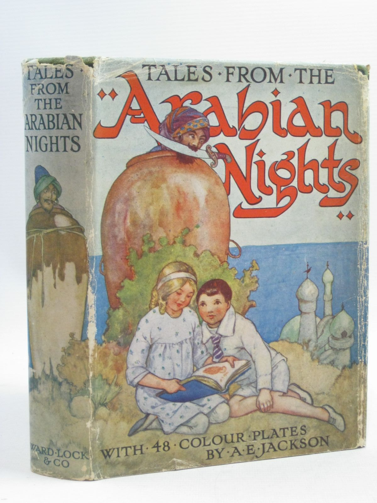 Photo of TALES FROM THE ARABIAN NIGHTS illustrated by Jackson, A.E. published by Ward, Lock & Co. Ltd. (STOCK CODE: 1314957)  for sale by Stella & Rose's Books