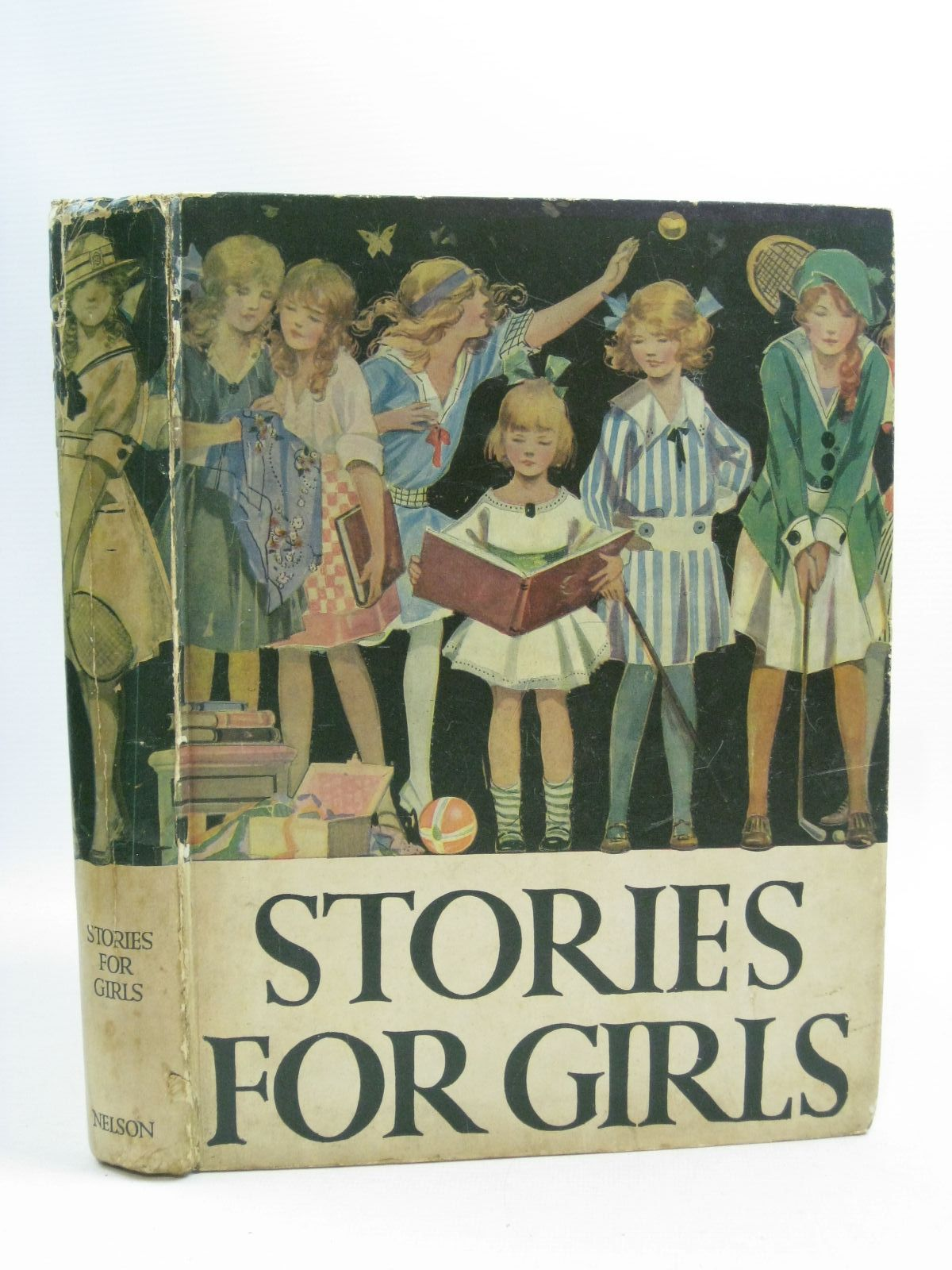 Photo of STORIES FOR GIRLS written by Talbot, Ethel<br />Shrewsbury, Mary<br />Metheley, Violet<br />et al, published by Thomas Nelson and Sons Ltd. (STOCK CODE: 1314984)  for sale by Stella & Rose's Books