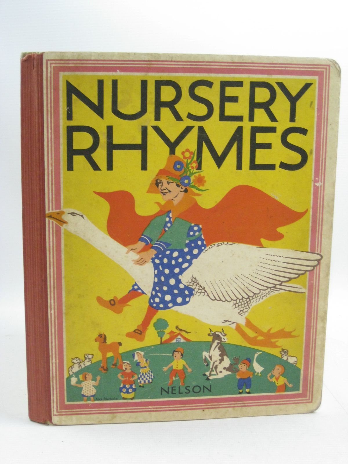 Photo of NURSERY RHYMES illustrated by Buckels, Alec published by Thomas Nelson and Sons Ltd. (STOCK CODE: 1314987)  for sale by Stella & Rose's Books