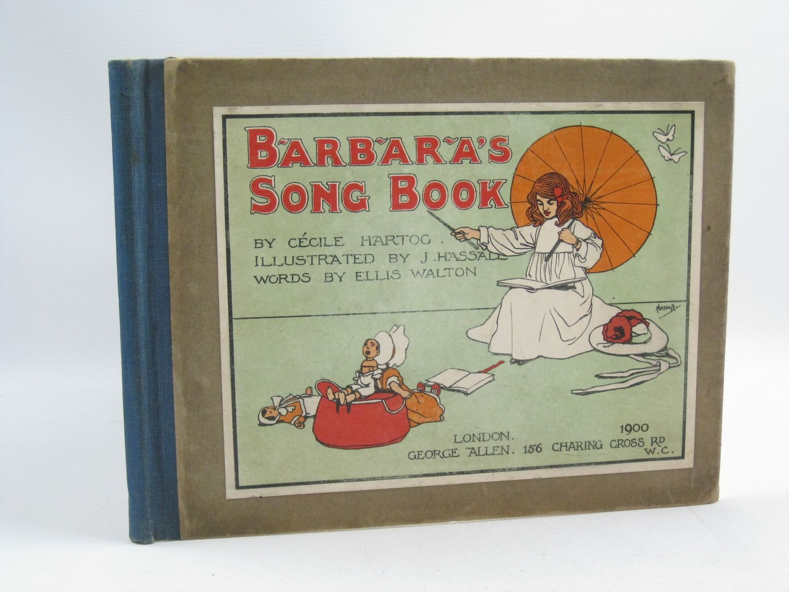 Photo of BARBARA'S SONG BOOK written by Hartog, Cecile<br />Walton, Ellis illustrated by Hassall, John published by George Allen (STOCK CODE: 1314988)  for sale by Stella & Rose's Books
