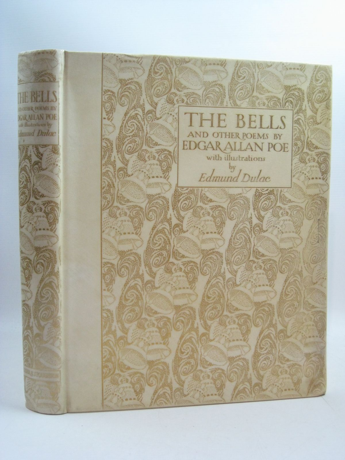 Photo of THE BELLS AND OTHER POEMS written by Poe, Edgar Allan illustrated by Dulac, Edmund published by Hodder & Stoughton (STOCK CODE: 1315001)  for sale by Stella & Rose's Books