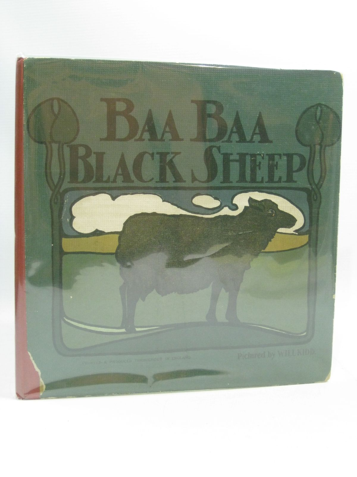 Photo of BAA BAA BLACK SHEEP illustrated by Kidd, Will published by Dean & Son Ltd. (STOCK CODE: 1315010)  for sale by Stella & Rose's Books