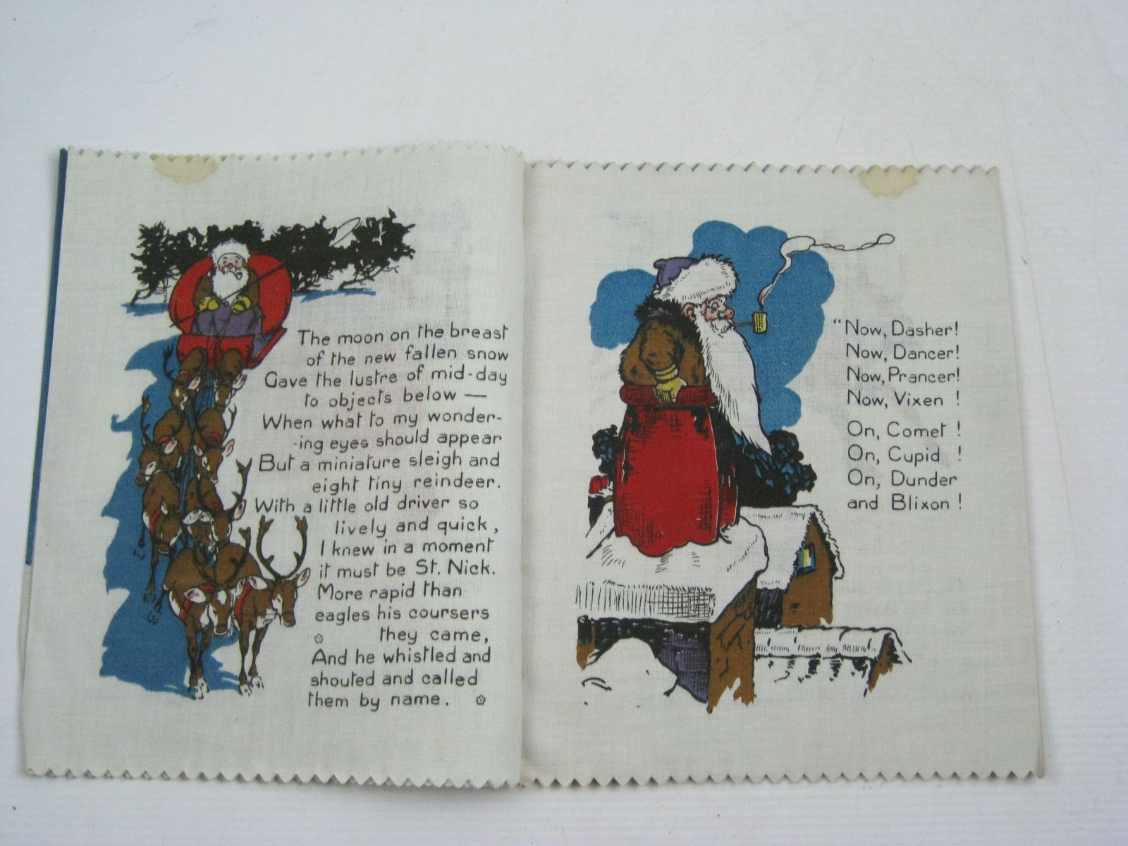photo of santa claus written by moore clement clarke illustrated by rountree harry published - Books About Santa Claus 2