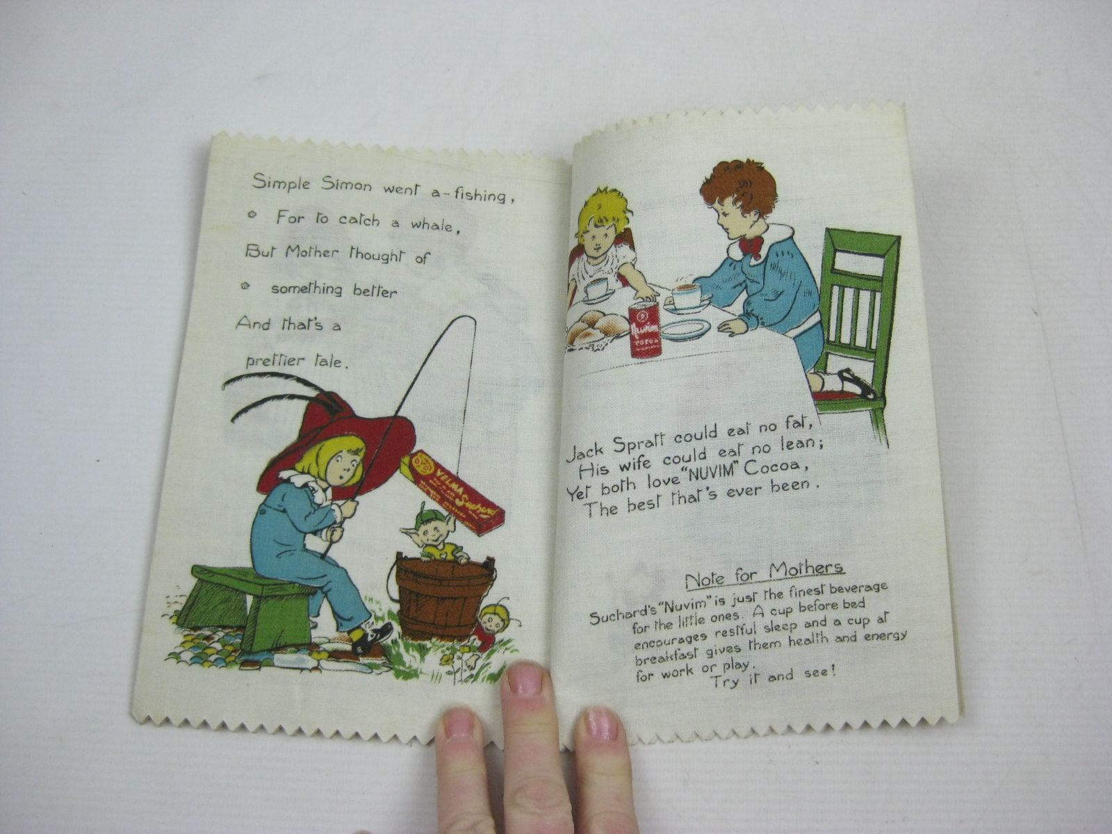 Photo of NURSERY RHYME RAG BOOK illustrated by Marsh, H.G.C.<br />Taylor, Gertrude E.<br />et al., published by Dean's Rag Book Co. Ltd. (STOCK CODE: 1315078)  for sale by Stella & Rose's Books