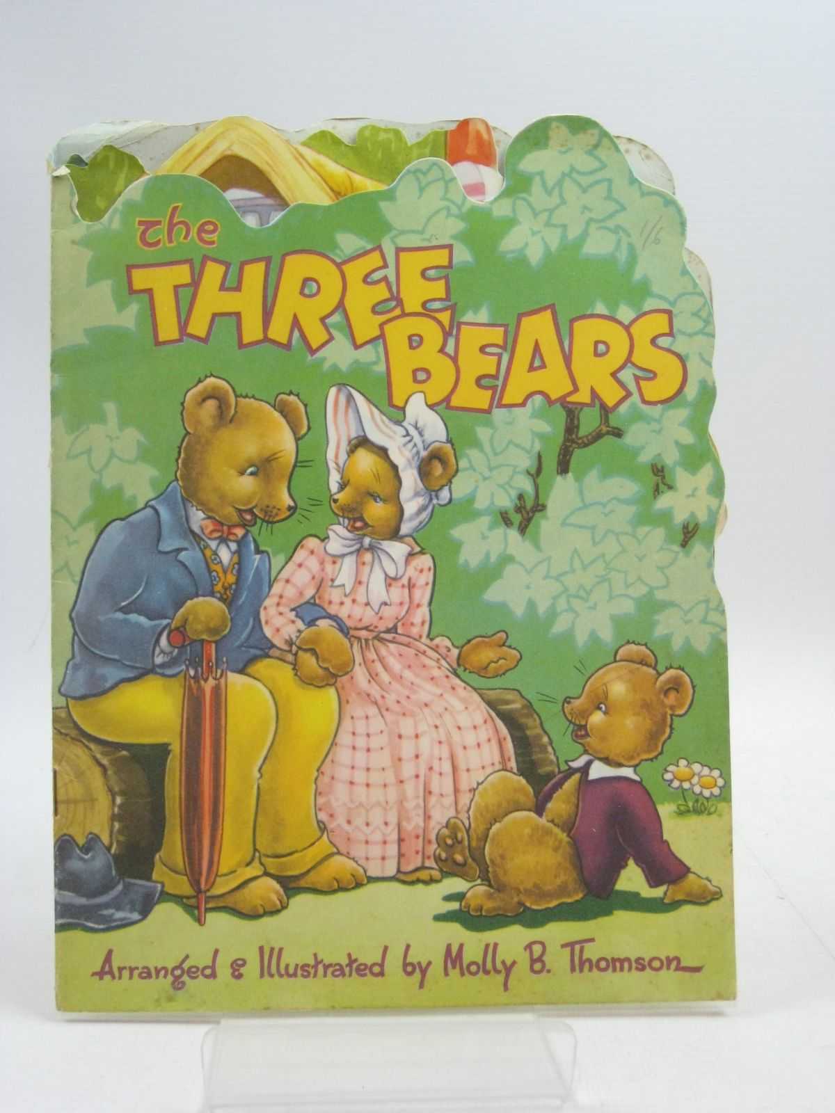 Photo of THE THREE BEARS written by Thomson, Molly B. illustrated by Thomson, Molly B. published by Collins Clear-Type Press (STOCK CODE: 1315086)  for sale by Stella & Rose's Books