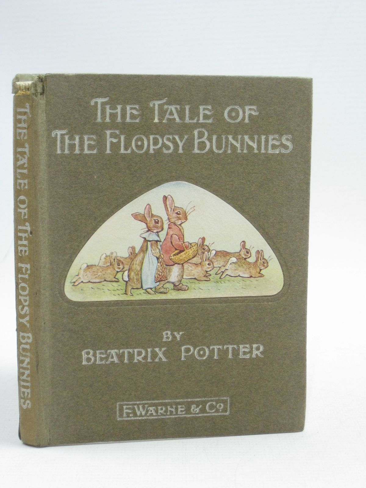 Photo of THE TALE OF THE FLOPSY BUNNIES written by Potter, Beatrix illustrated by Potter, Beatrix published by Frederick Warne & Co. (STOCK CODE: 1315132)  for sale by Stella & Rose's Books