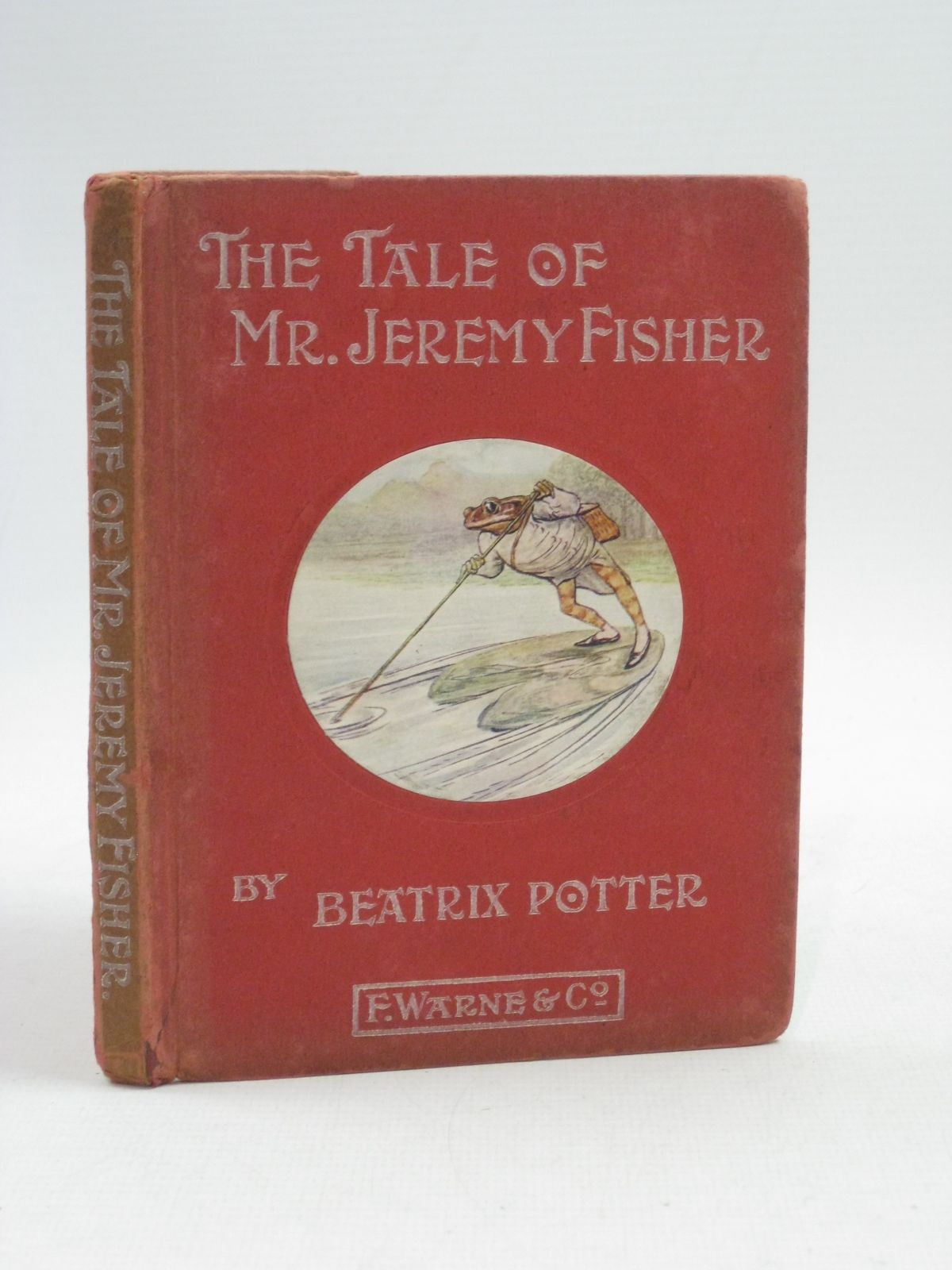 Photo of THE TALE OF MR. JEREMY FISHER written by Potter, Beatrix illustrated by Potter, Beatrix published by Frederick Warne & Co. (STOCK CODE: 1315137)  for sale by Stella & Rose's Books