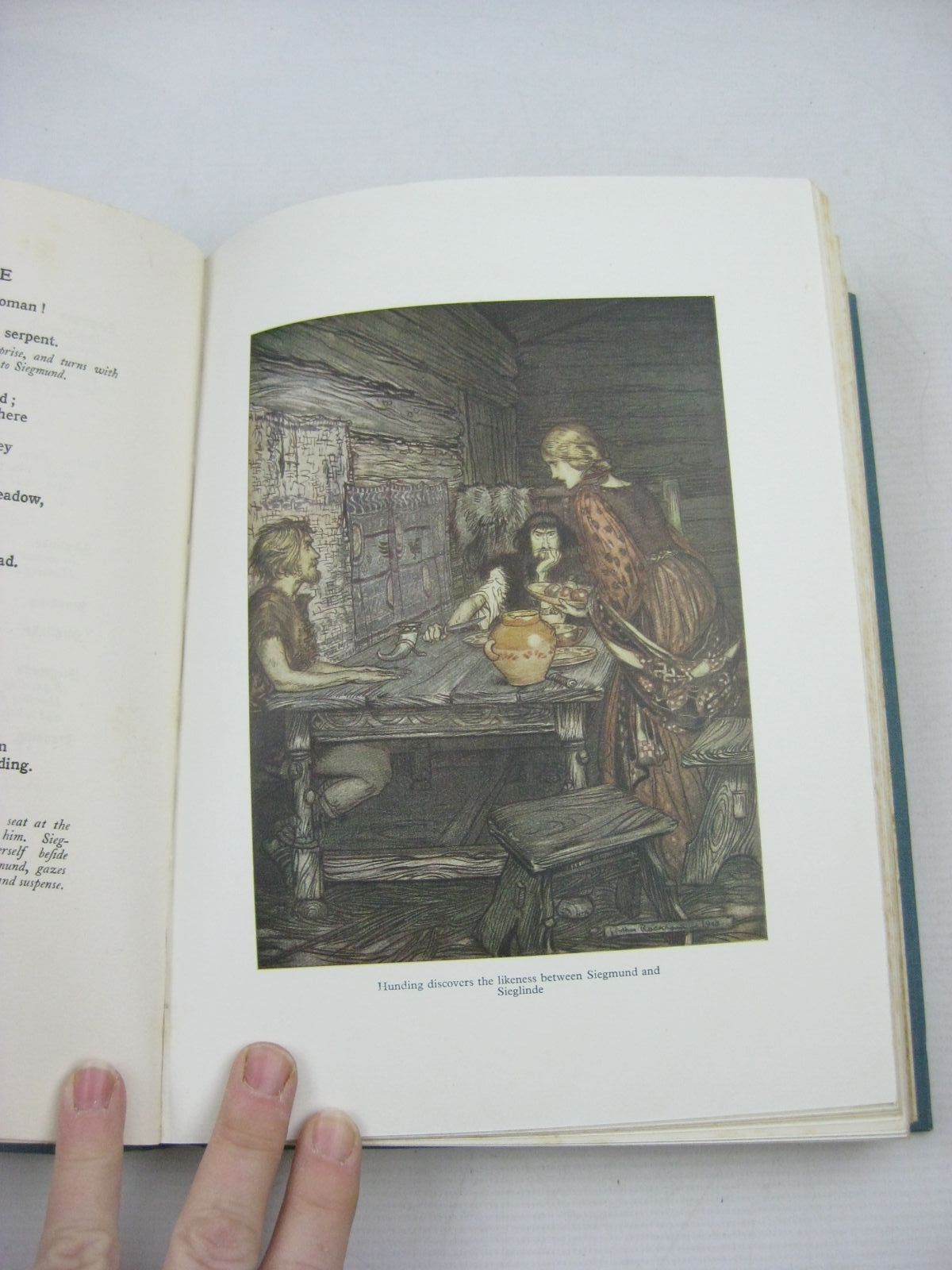 Photo of THE RING OF THE NIBLUNG written by Wagner, Richard illustrated by Rackham, Arthur published by William Heinemann Ltd. (STOCK CODE: 1315175)  for sale by Stella & Rose's Books