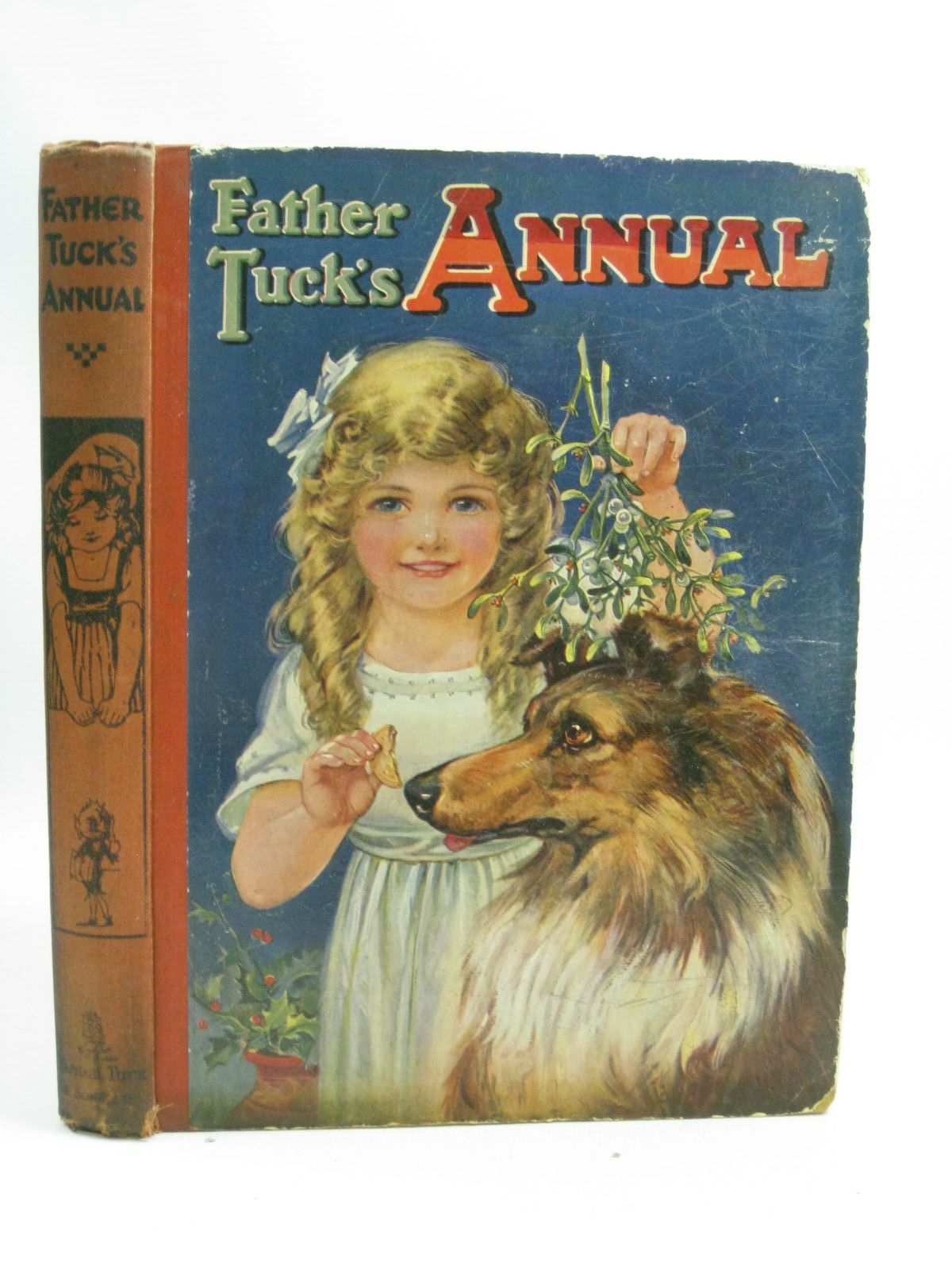 Photo of FATHER TUCK'S ANNUAL - 26TH YEAR written by Gale, Norman<br />Attwell, Jessie<br />et al,  illustrated by Wain, Louis<br />Cowham, Hilda<br />Dixon, Arthur A.<br />et al.,  published by Raphael Tuck & Sons Ltd. (STOCK CODE: 1315209)  for sale by Stella & Rose's Books