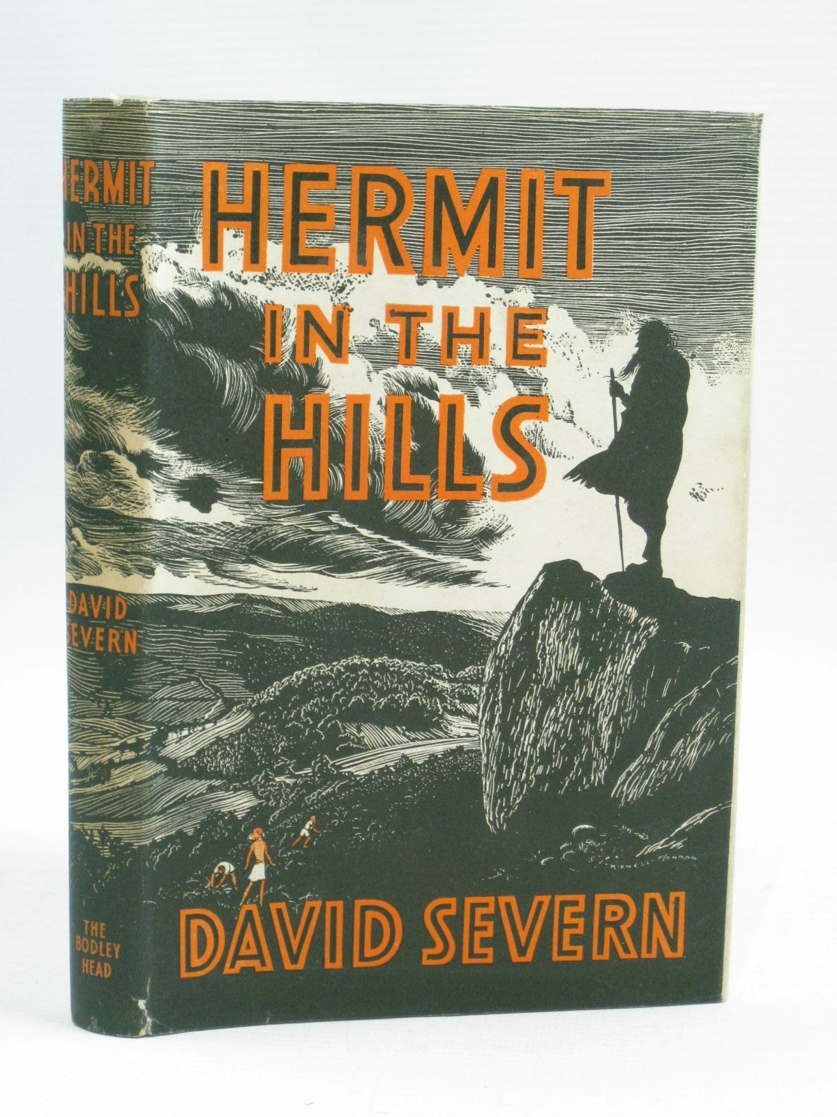 Photo of HERMIT IN THE HILLS written by Severn, David illustrated by Kiddell-Monroe, J. published by John Lane The Bodley Head (STOCK CODE: 1315228)  for sale by Stella & Rose's Books