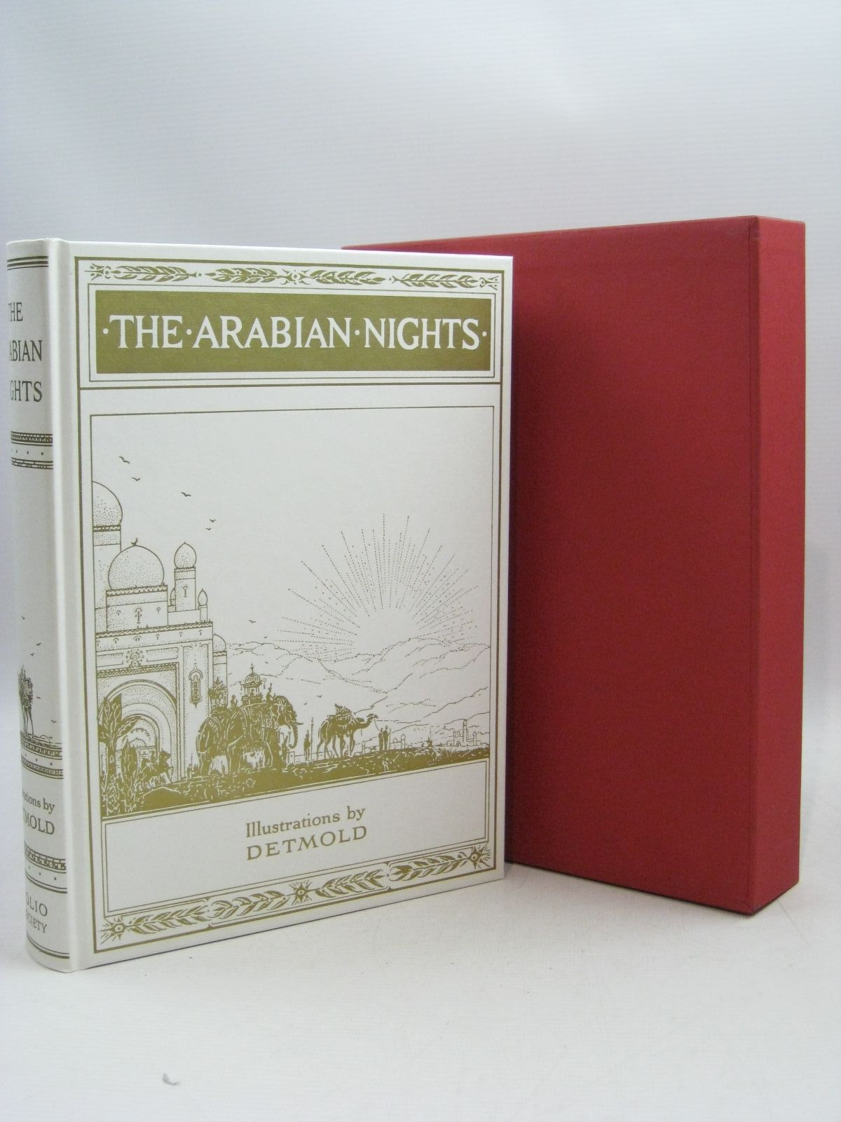 Photo of THE ARABIAN NIGHTS illustrated by Detmold, Edward J. published by Folio Society (STOCK CODE: 1315318)  for sale by Stella & Rose's Books
