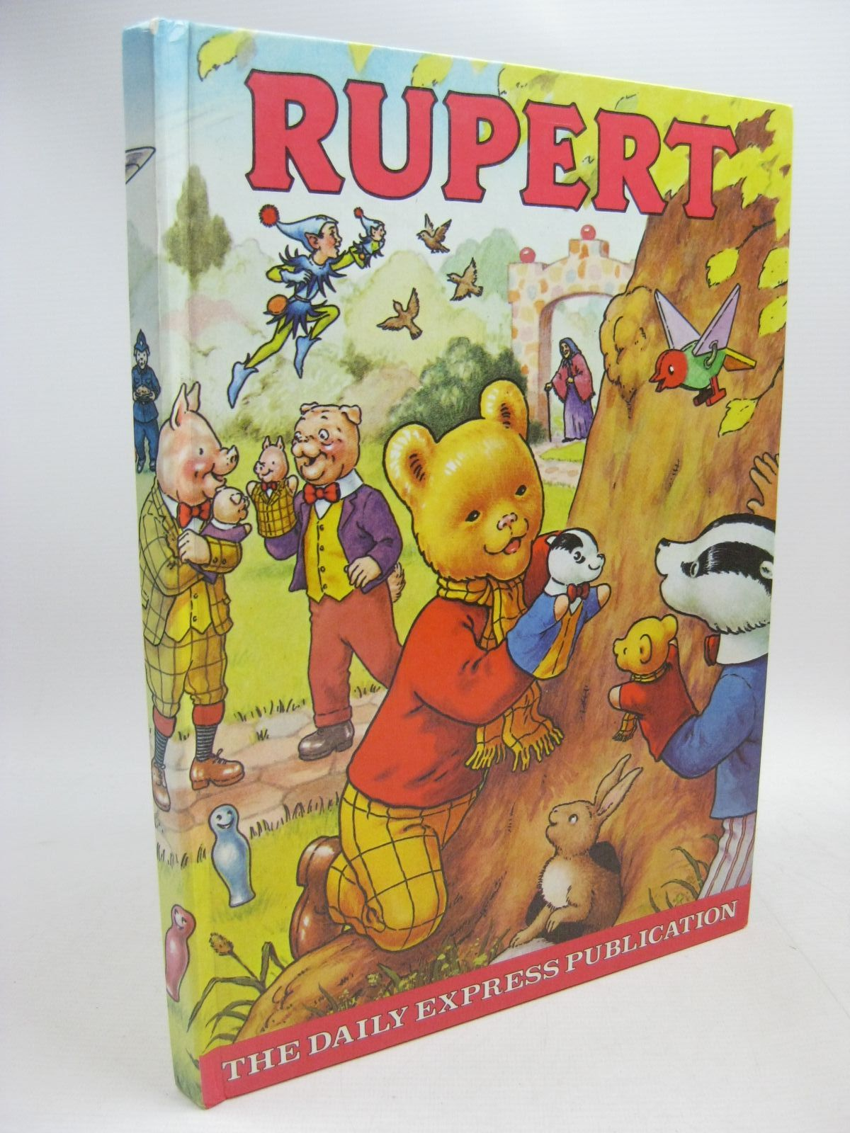 Photo of RUPERT ANNUAL 1980 illustrated by Harrold, John published by Express Newspapers Ltd. (STOCK CODE: 1315427)  for sale by Stella & Rose's Books