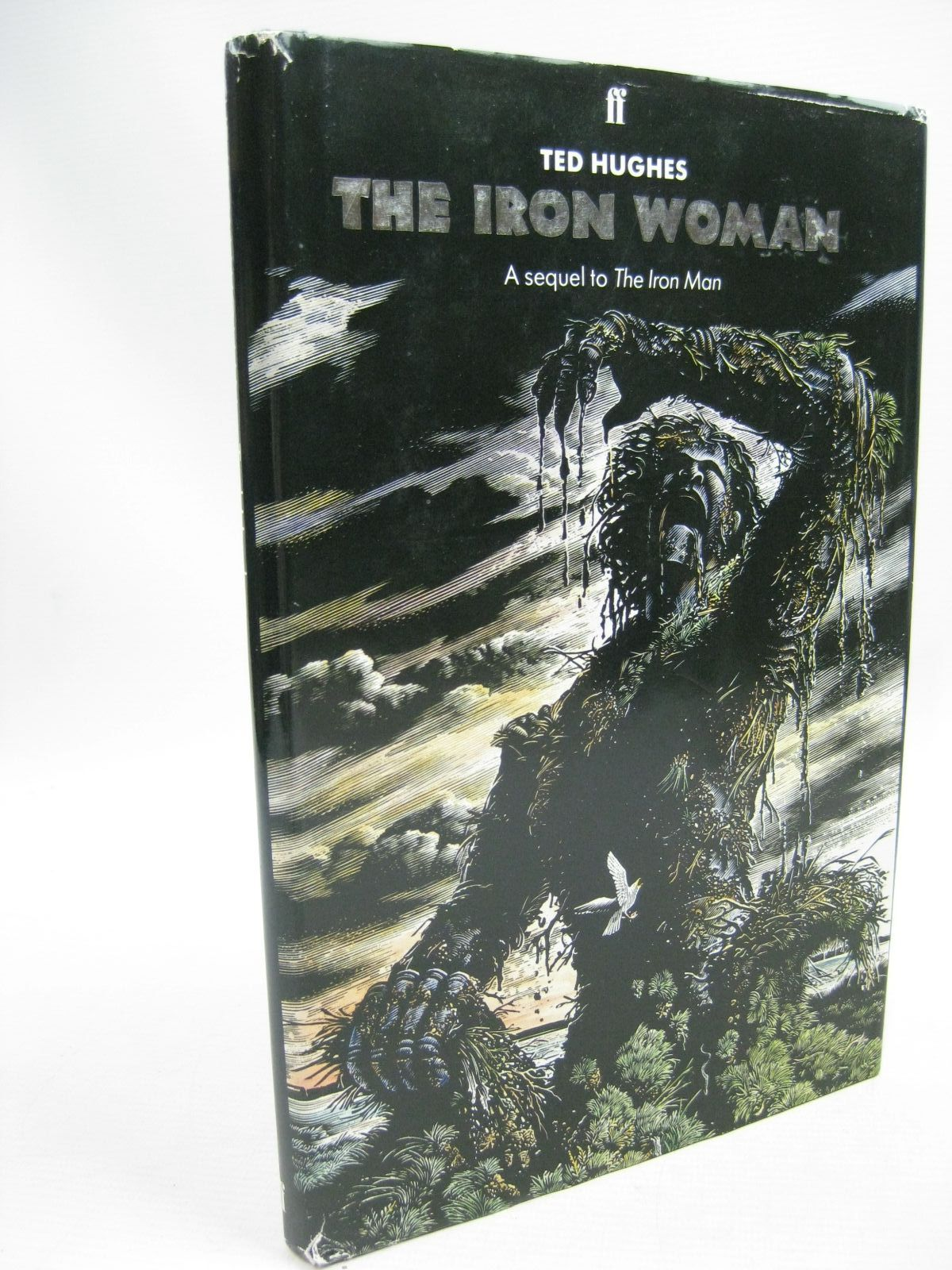 Photo of THE IRON WOMAN written by Hughes, Ted illustrated by Davidson, Andrew published by Faber & Faber (STOCK CODE: 1315435)  for sale by Stella & Rose's Books