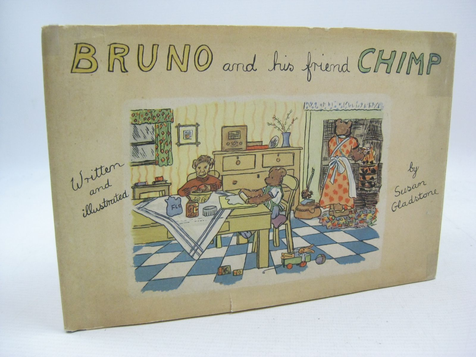 Photo of BRUNO AND HIS FRIEND CHIMP written by Gladstone, Susan illustrated by Gladstone, Susan published by J.M. Dent & Sons Ltd. (STOCK CODE: 1315437)  for sale by Stella & Rose's Books