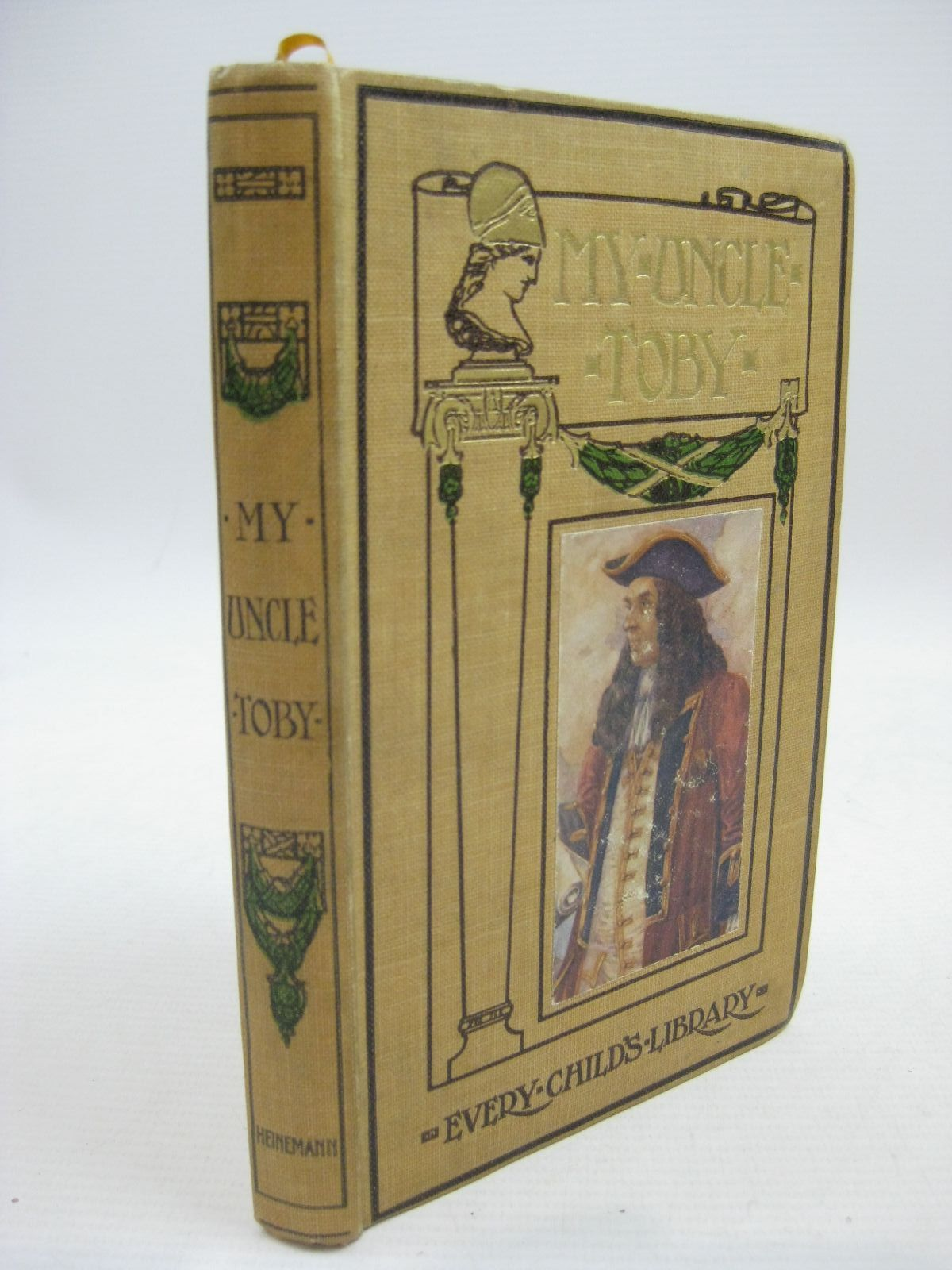 Photo of MY UNCLE TOBY written by Sterne, Laurence<br />Cartwright, Thomas illustrated by Wilson, Batten<br />Cruikshank, George published by William Heinemann (STOCK CODE: 1315462)  for sale by Stella & Rose's Books