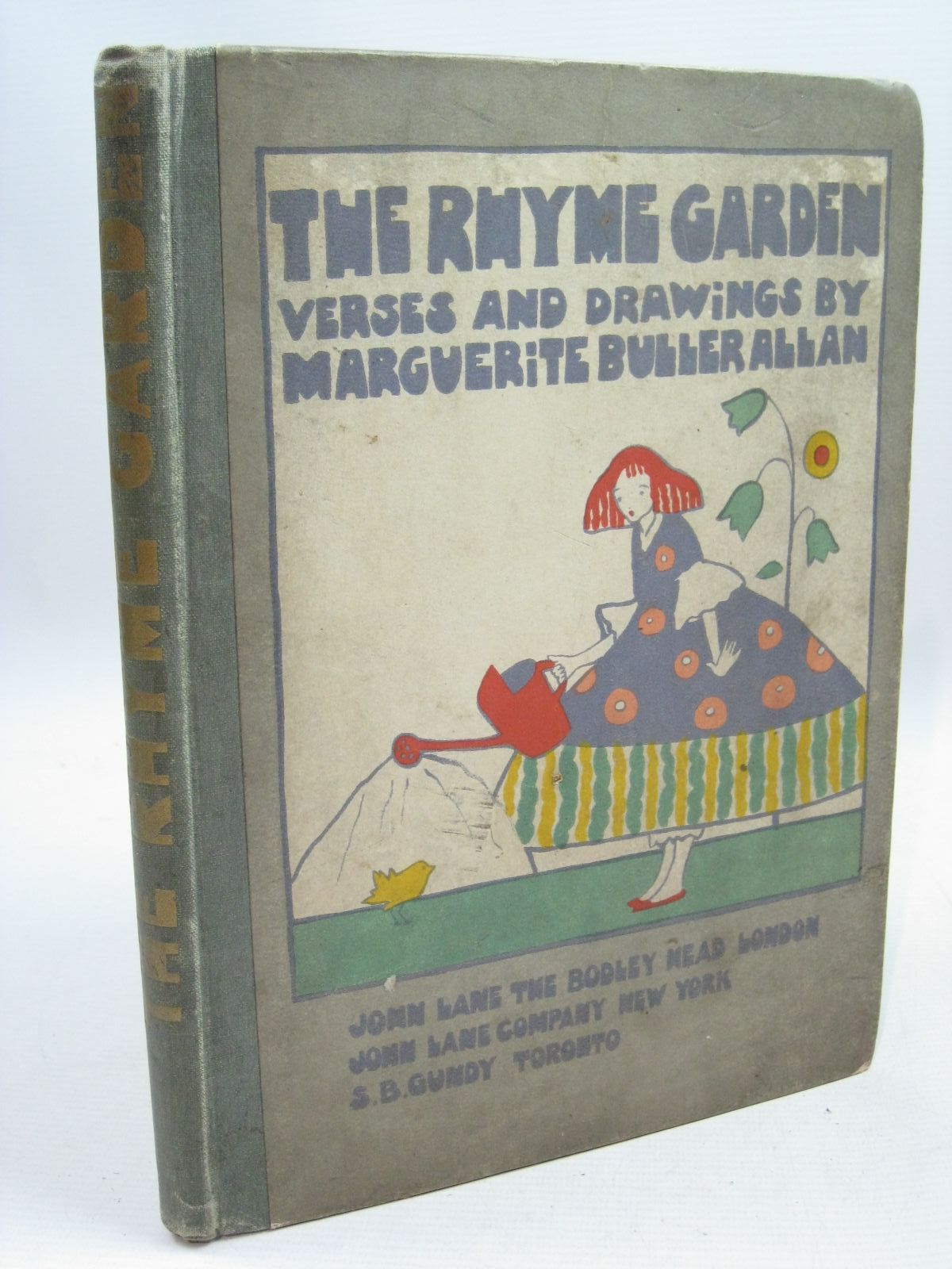 Photo of THE RHYME GARDEN written by Allan, Marguerite Buller illustrated by Allan, Marguerite Buller published by John Lane The Bodley Head (STOCK CODE: 1315566)  for sale by Stella & Rose's Books