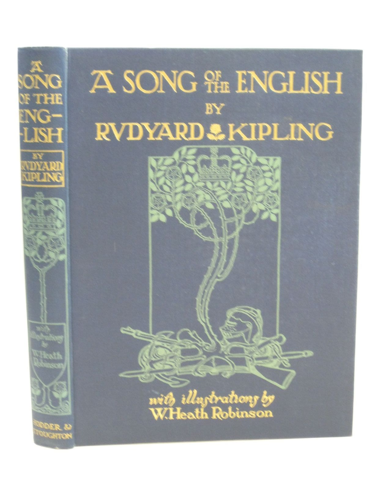 Photo of A SONG OF THE ENGLISH written by Kipling, Rudyard illustrated by Robinson, W. Heath published by Hodder & Stoughton (STOCK CODE: 1315578)  for sale by Stella & Rose's Books
