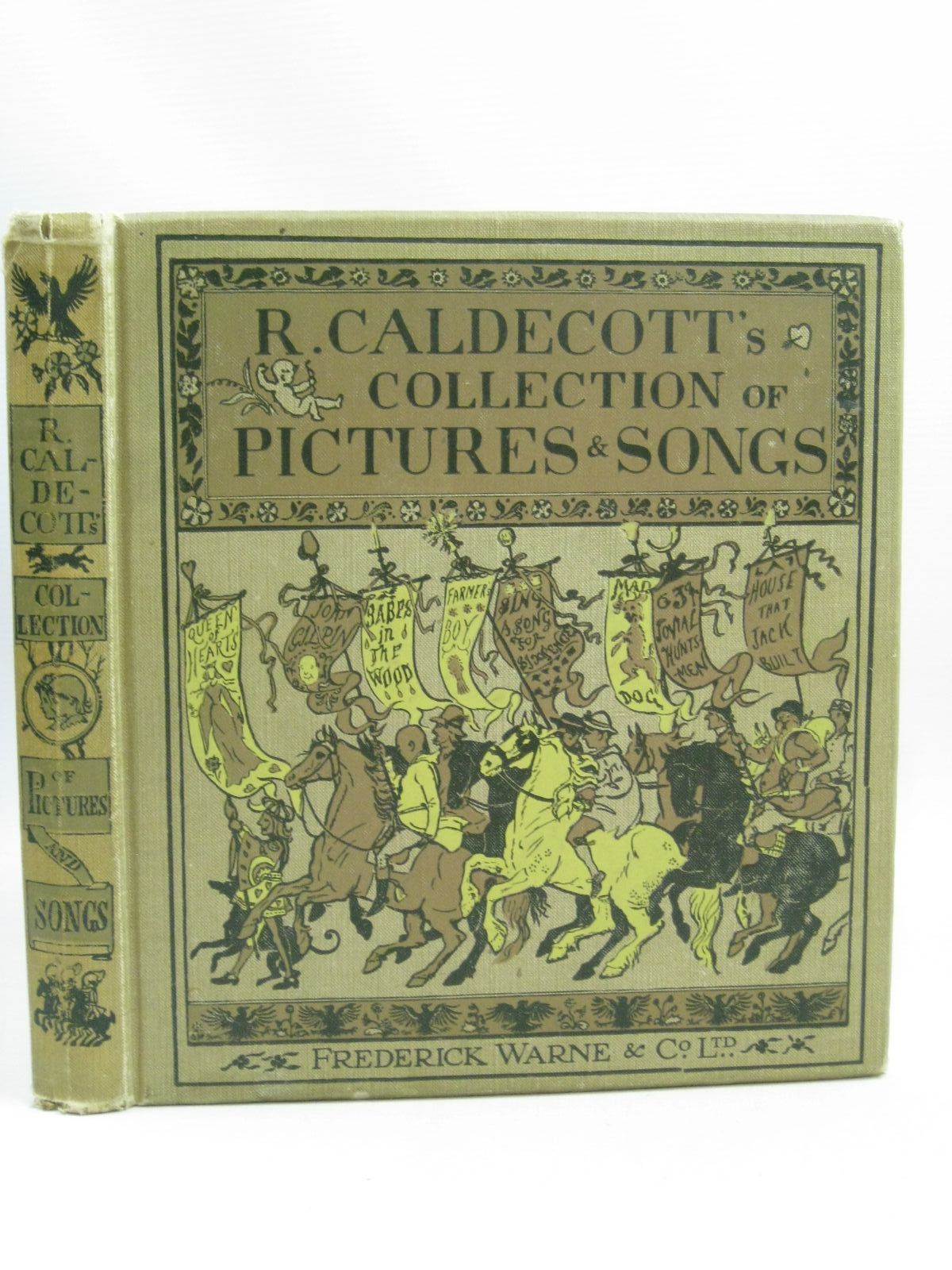 Photo of R. CALDECOTT'S FIRST COLLECTION OF PICTURES & SONGS illustrated by Caldecott, Randolph published by Frederick Warne & Co. (STOCK CODE: 1315637)  for sale by Stella & Rose's Books