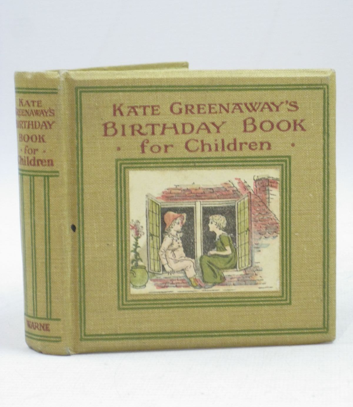 Photo of KATE GREENAWAY'S BIRTHDAY BOOK FOR CHILDREN written by Barker, Mrs. Sale illustrated by Greenaway, Kate published by Frederick Warne & Co Ltd. (STOCK CODE: 1315642)  for sale by Stella & Rose's Books
