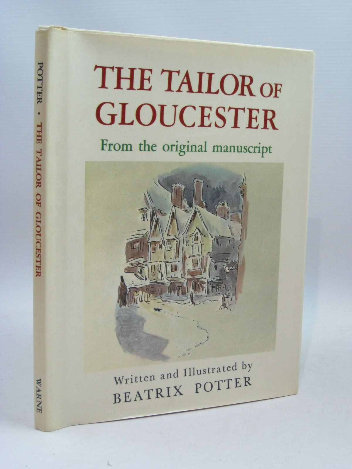 Photo of THE TAILOR OF GLOUCESTER FROM THE ORIGINAL MANUSCRIPT