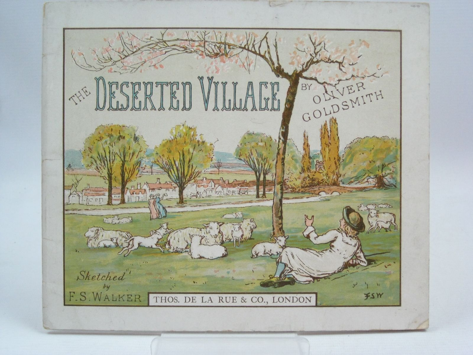 oliver goldsmith s the deserted village The deserted village is a poem by oliver goldsmith published in 1770 it is a work of social commentary, and condemns rural depopulation and the pursuit of excessive wealth.