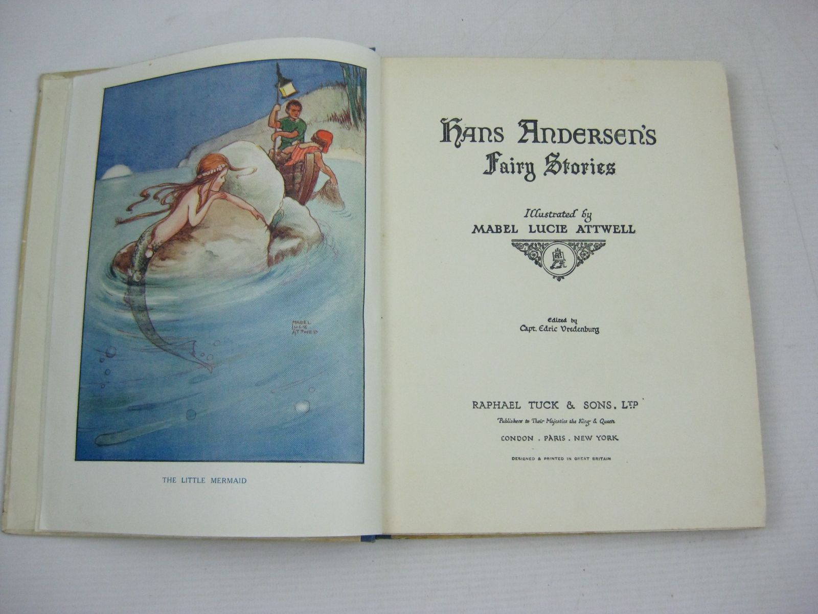 Photo of HANS ANDERSEN'S FAIRY STORIES written by Andersen, Hans Christian illustrated by Attwell, Mabel Lucie published by Raphael Tuck & Sons Ltd. (STOCK CODE: 1315698)  for sale by Stella & Rose's Books