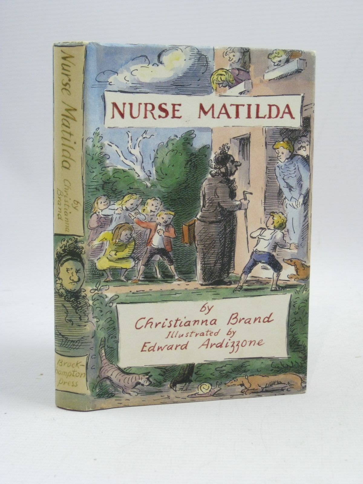 Photo of NURSE MATILDA written by Brand, Christianna illustrated by Ardizzone, Edward published by Brockhampton Press (STOCK CODE: 1315709)  for sale by Stella & Rose's Books
