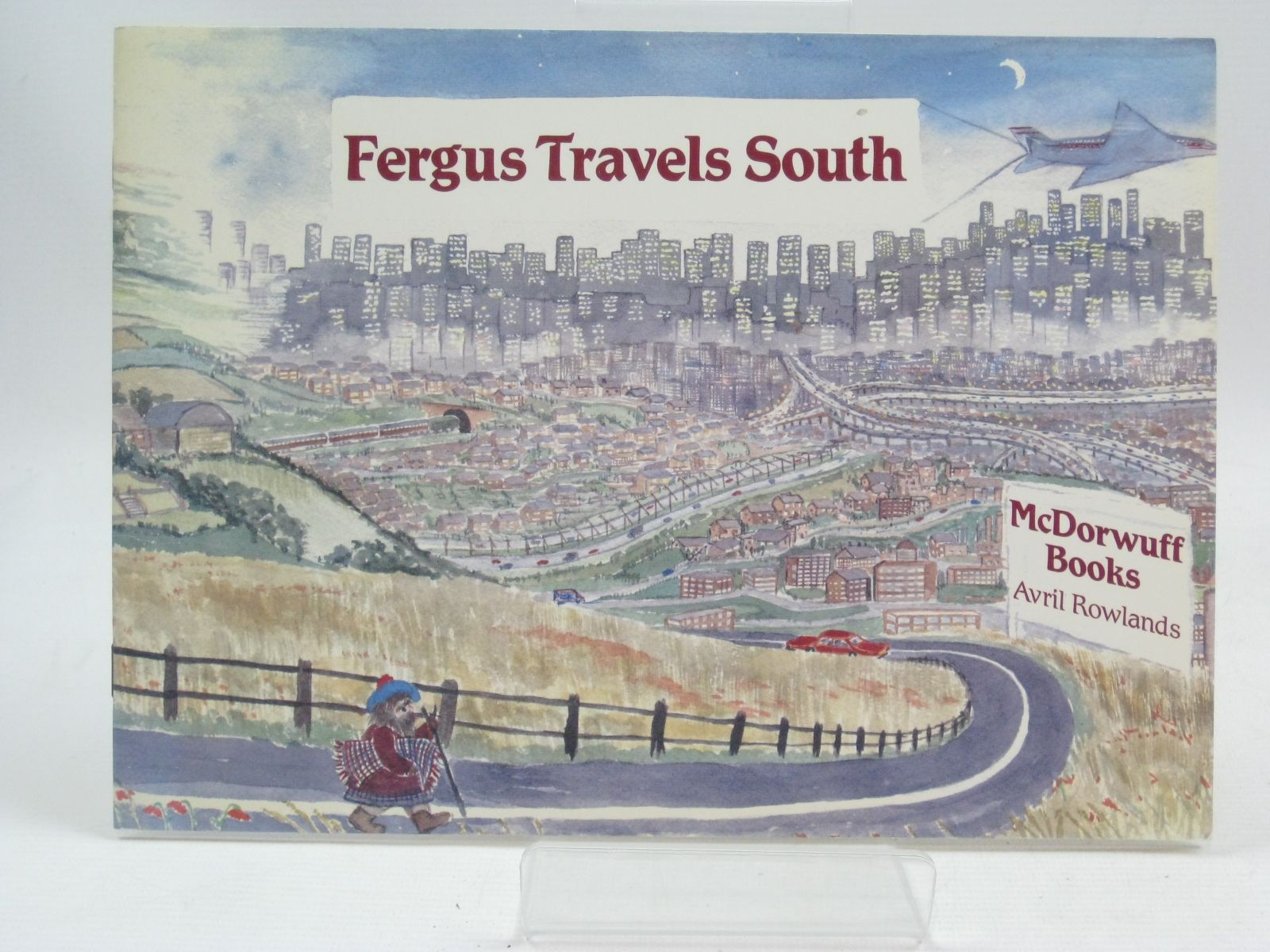 Photo of FERGUS TRAVELS SOUTH written by Rowlands, Avril illustrated by Horton, John published by Hillside Publishing (STOCK CODE: 1315719)  for sale by Stella & Rose's Books