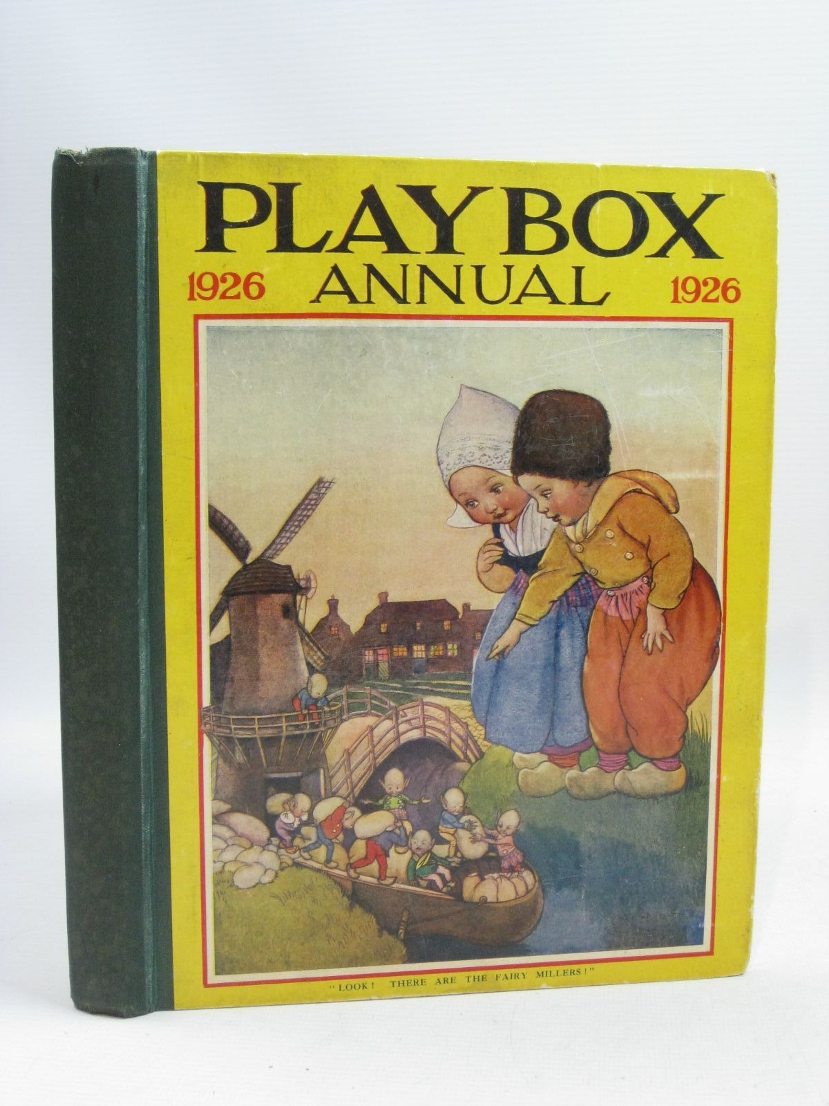 Photo of PLAYBOX ANNUAL 1926 illustrated by Lambert, H.G.C. Marsh<br />Foxwell, Herbert<br />et al.,  published by The Amalgamated Press (STOCK CODE: 1315736)  for sale by Stella & Rose's Books