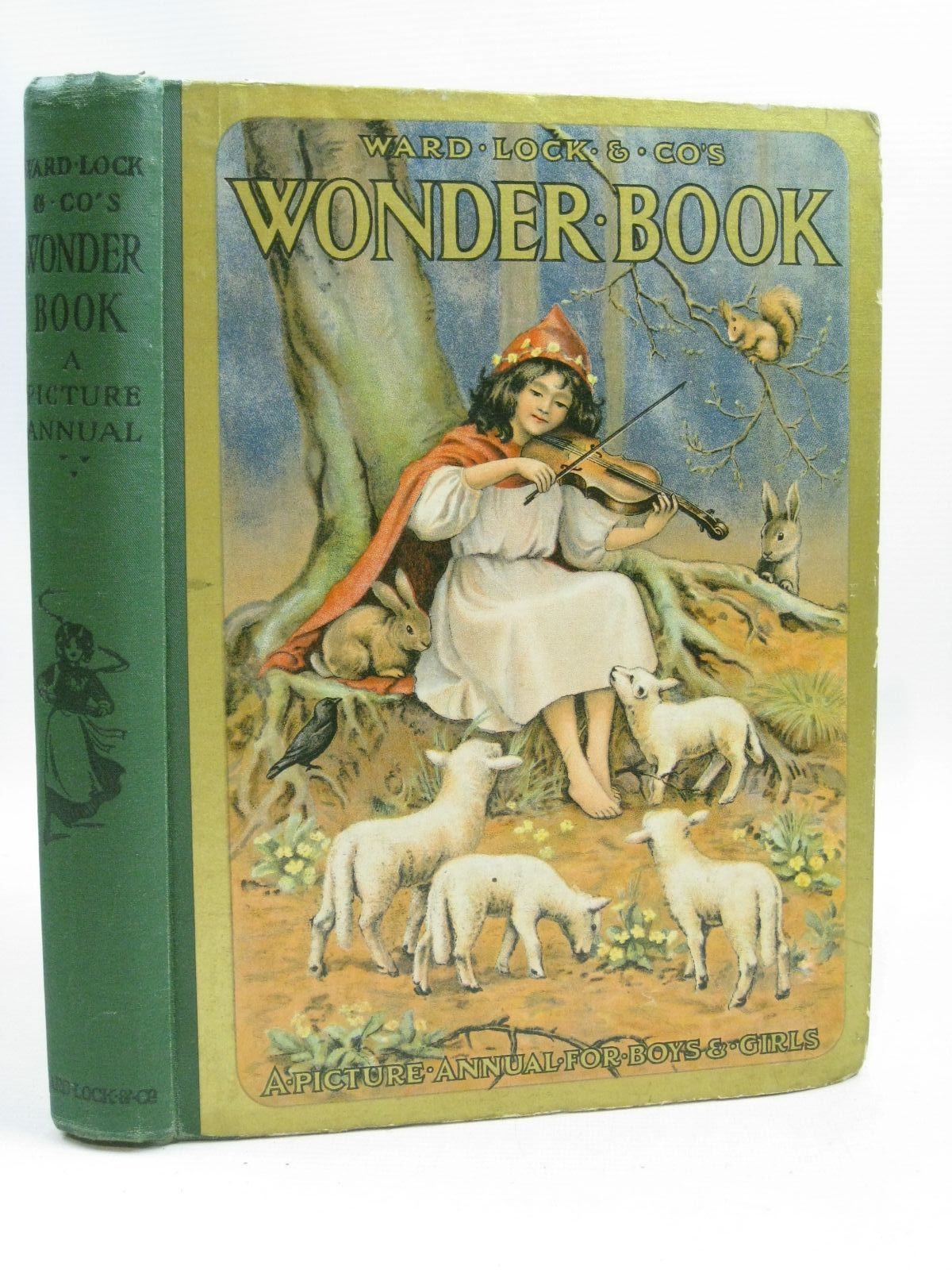 Photo of WARD LOCK &AMP; CO'S WONDER BOOK 1917 written by Golding, Harry illustrated by Maybank, Thomas<br />Tarrant, Margaret<br />Robinson, Charles<br />Wain, Louis<br />et al., published by Ward, Lock & Co. Limited (STOCK CODE: 1315745)  for sale by Stella & Rose's Books