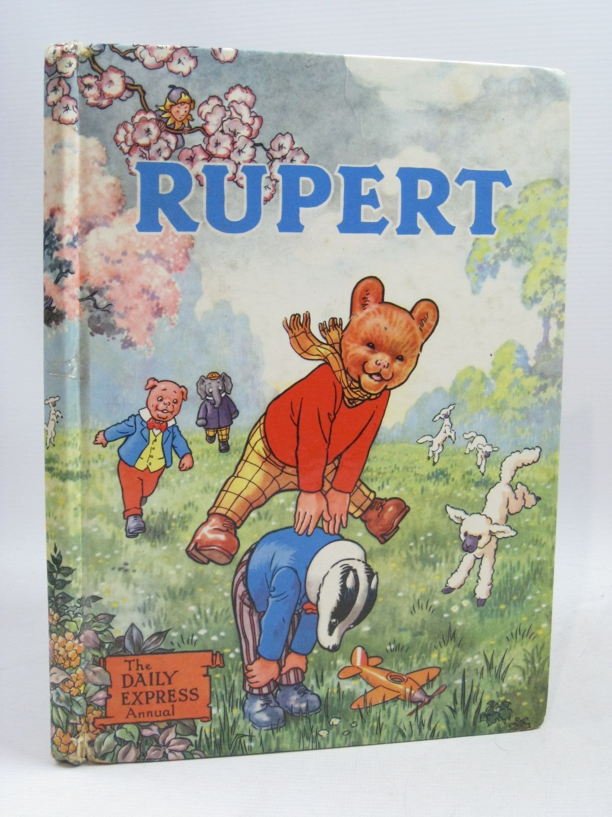 Photo of RUPERT ANNUAL 1958 written by Bestall, Alfred illustrated by Bestall, Alfred published by Daily Express (STOCK CODE: 1315758)  for sale by Stella & Rose's Books