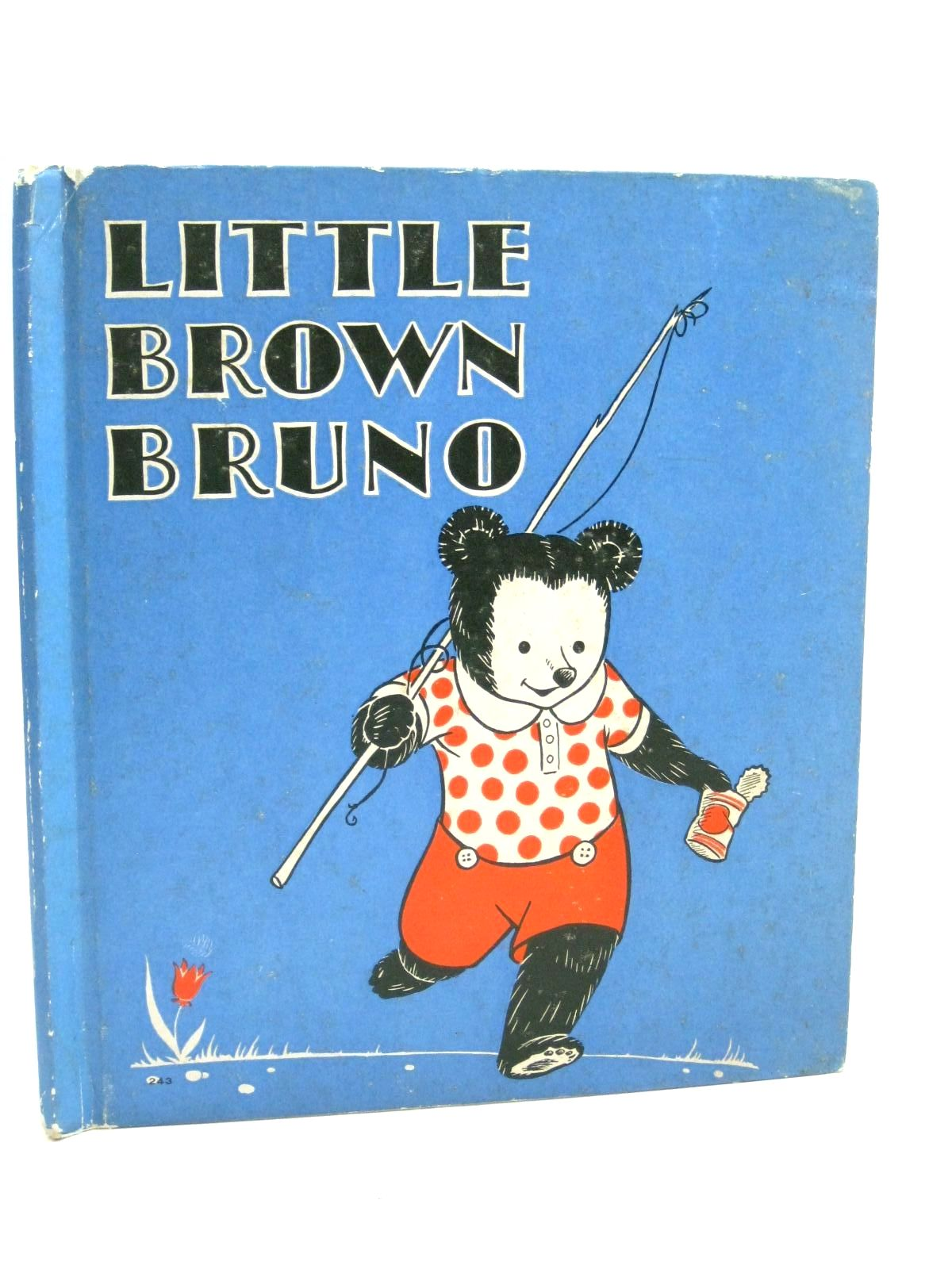 Photo of LITTLE BROWN BRUNO written by Radford, Alice E. illustrated by Rawson, Clayton published by Rand McNally & Co. (STOCK CODE: 1315827)  for sale by Stella & Rose's Books