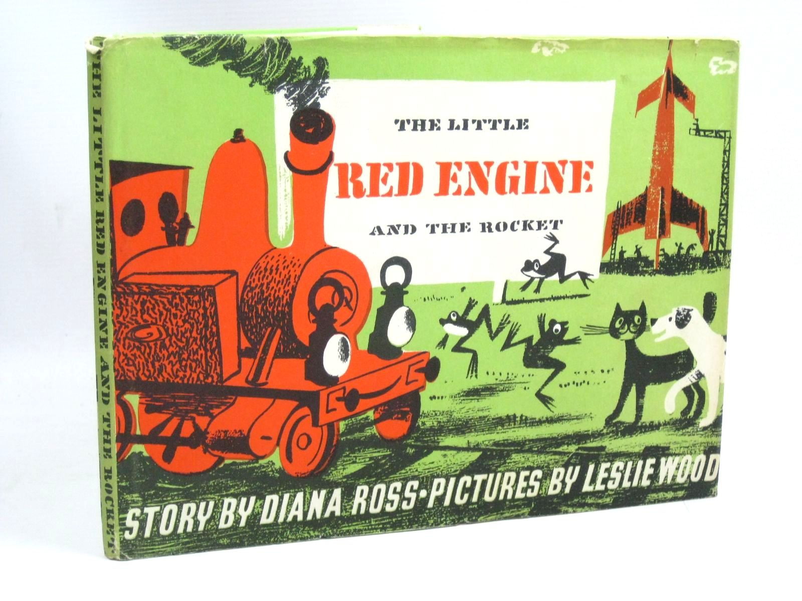 Photo of THE LITTLE RED ENGINE AND THE ROCKET written by Ross, Diana illustrated by Wood, Leslie published by Faber & Faber (STOCK CODE: 1315850)  for sale by Stella & Rose's Books