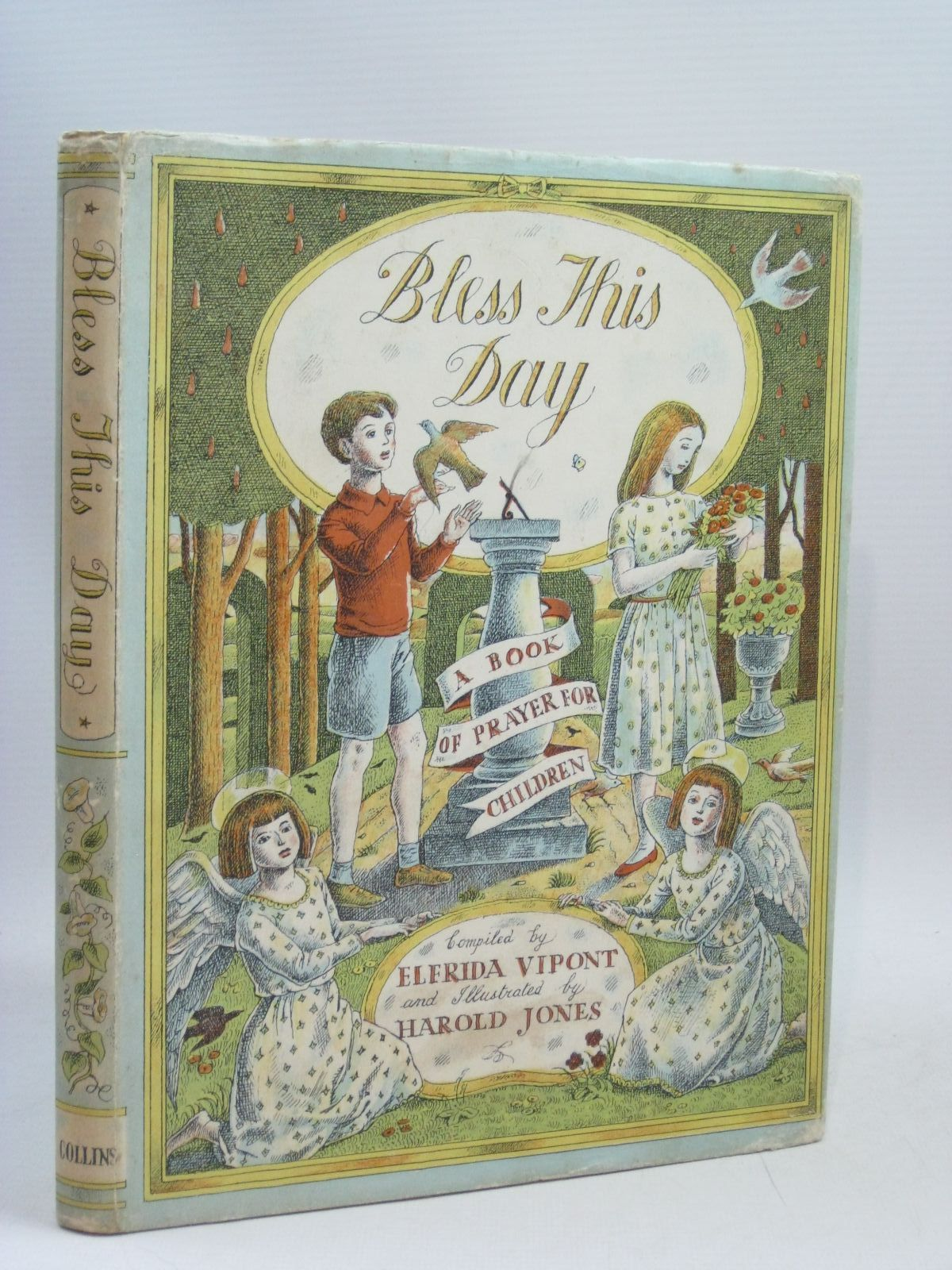 Photo of BLESS THIS DAY written by Vipont, Elfrida illustrated by Jones, Harold published by Collins (STOCK CODE: 1315870)  for sale by Stella & Rose's Books