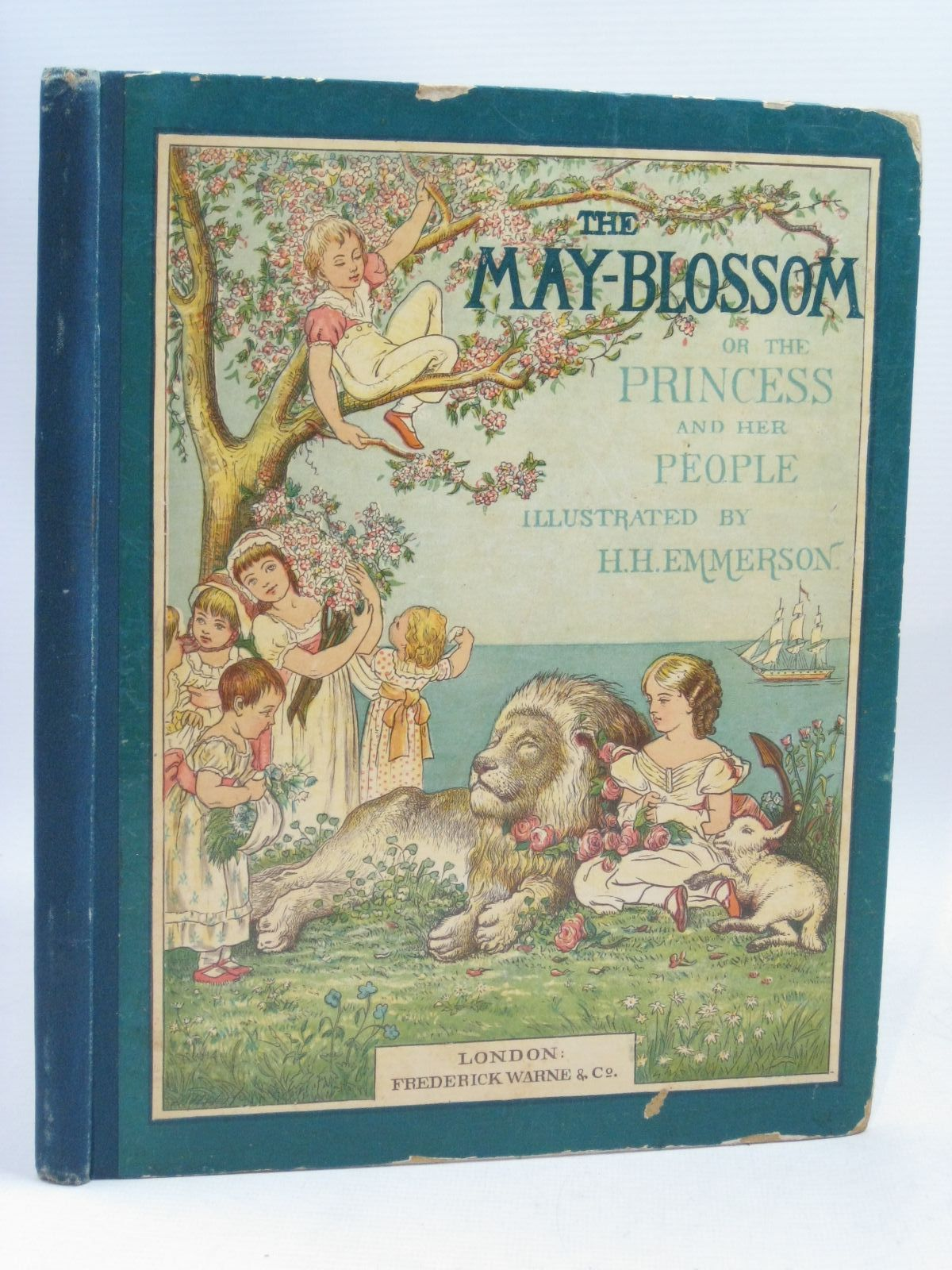 Photo of THE MAY BLOSSOM; OR THE PRINCESS AND HER PEOPLE written by Wingrave, Marion M. illustrated by Emmerson, H.H. published by Frederick Warne & Co. (STOCK CODE: 1315874)  for sale by Stella & Rose's Books