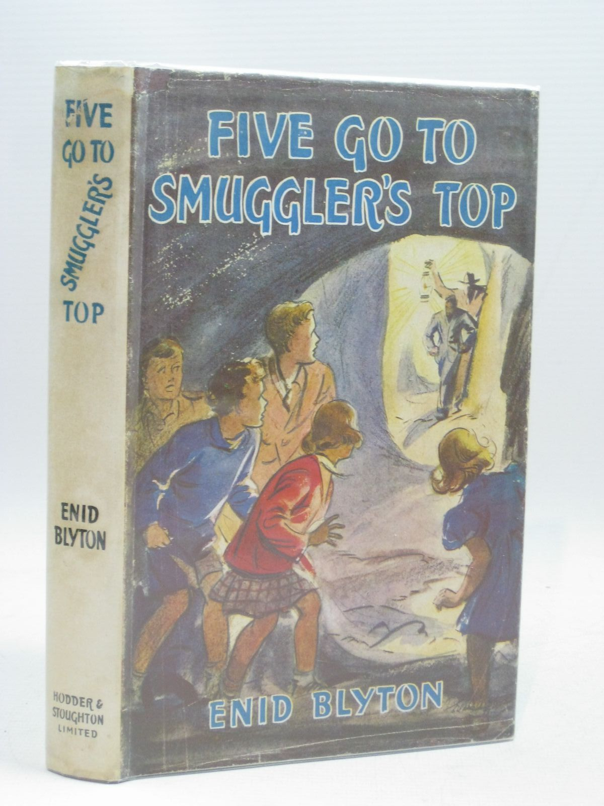 Photo of FIVE GO TO SMUGGLER'S TOP written by Blyton, Enid illustrated by Soper, Eileen published by Hodder & Stoughton (STOCK CODE: 1316054)  for sale by Stella & Rose's Books