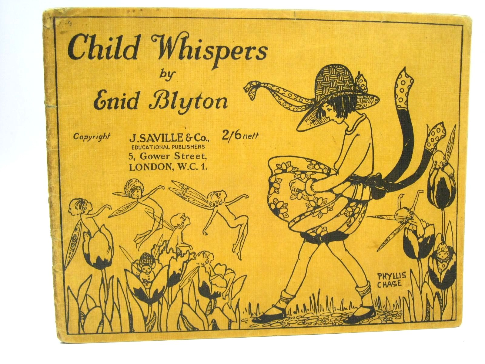 Photo of CHILD WHISPERS written by Blyton, Enid published by J. Saville & Co. (STOCK CODE: 1316062)  for sale by Stella & Rose's Books