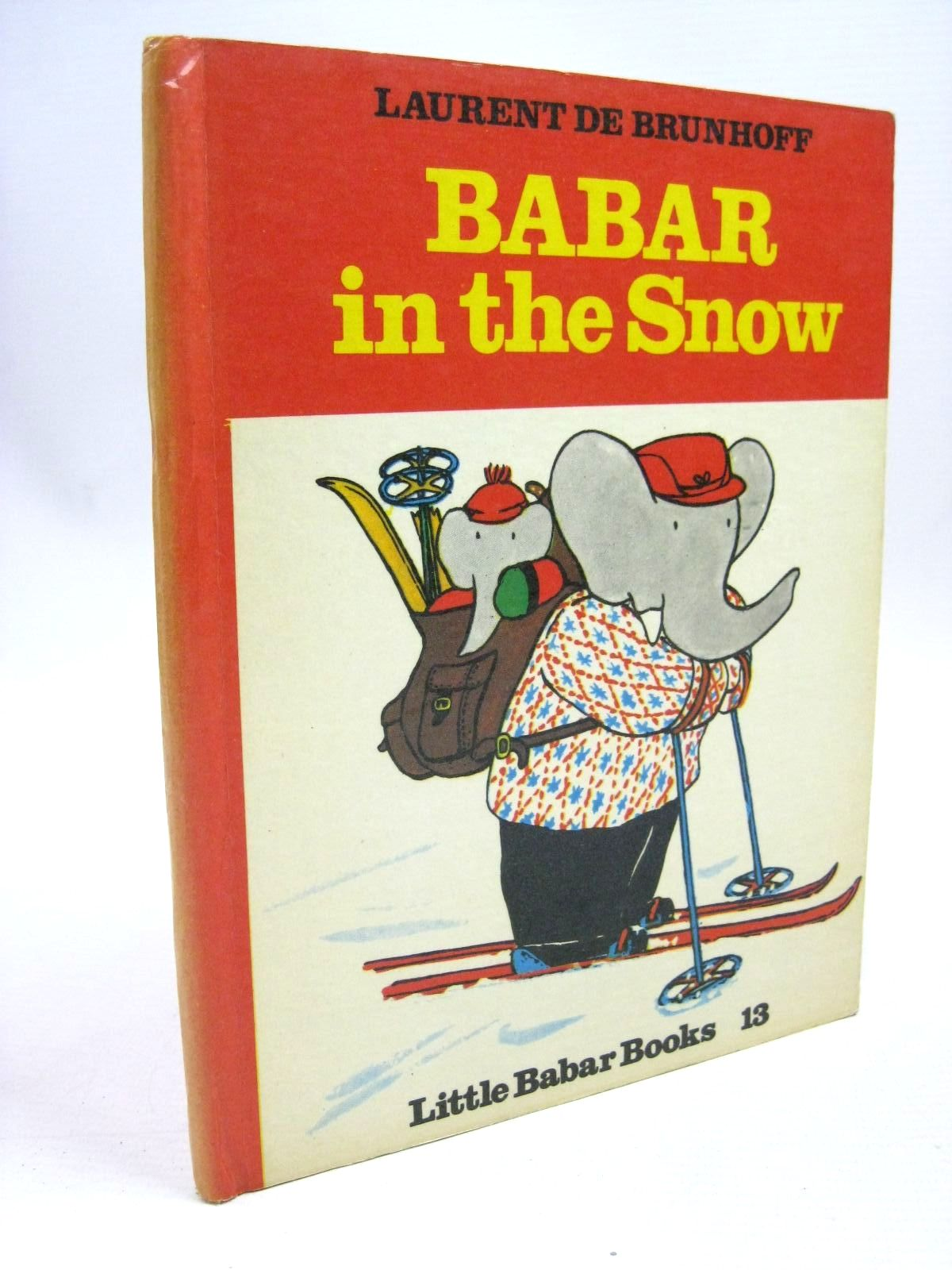 Photo of BABAR IN THE SNOW written by De Brunhoff, Laurent published by Methuen & Co. Ltd. (STOCK CODE: 1316073)  for sale by Stella & Rose's Books