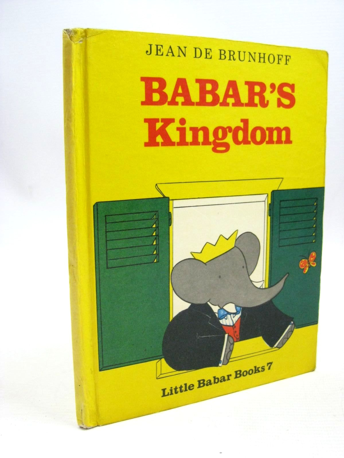 Photo of BABAR'S KINGDOM written by De Brunhoff, Jean illustrated by De Brunhoff, Jean published by Methuen & Co. Ltd. (STOCK CODE: 1316075)  for sale by Stella & Rose's Books