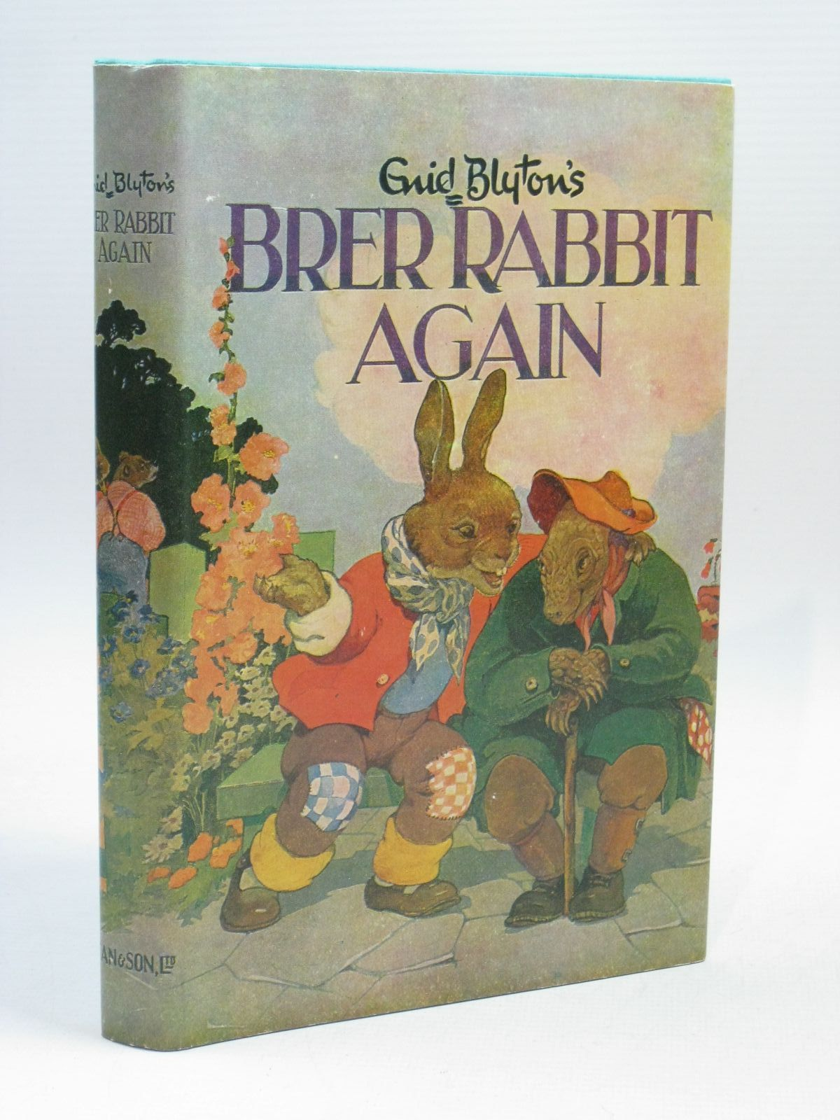 Photo of BRER RABBIT AGAIN written by Blyton, Enid illustrated by Lodge, Grace published by Dean & Son Ltd. (STOCK CODE: 1316090)  for sale by Stella & Rose's Books