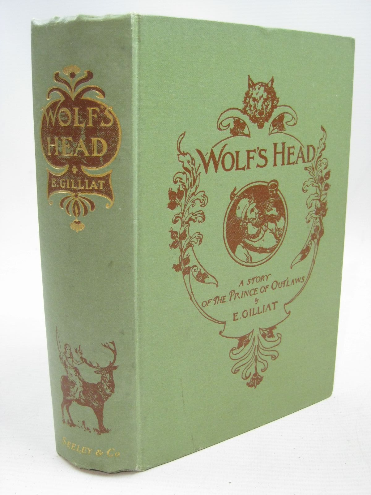 Photo of WOLF'S HEAD written by Gilliat, E. published by Seeley and Co. Limited (STOCK CODE: 1316150)  for sale by Stella & Rose's Books