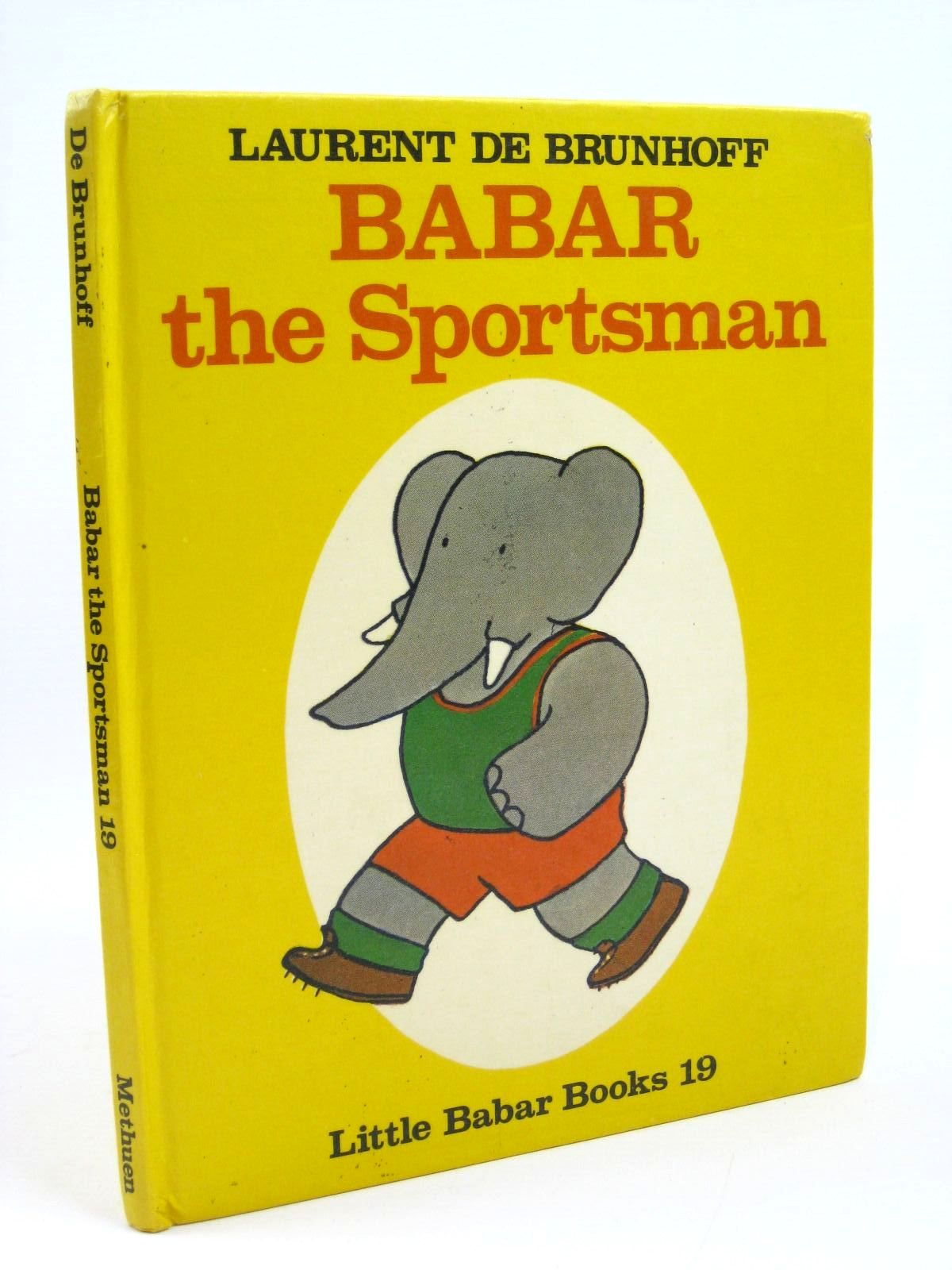 Photo of BABAR THE SPORTSMAN written by De Brunhoff, Laurent illustrated by De Brunhoff, Laurent published by Methuen Children's Books Ltd. (STOCK CODE: 1316314)  for sale by Stella & Rose's Books
